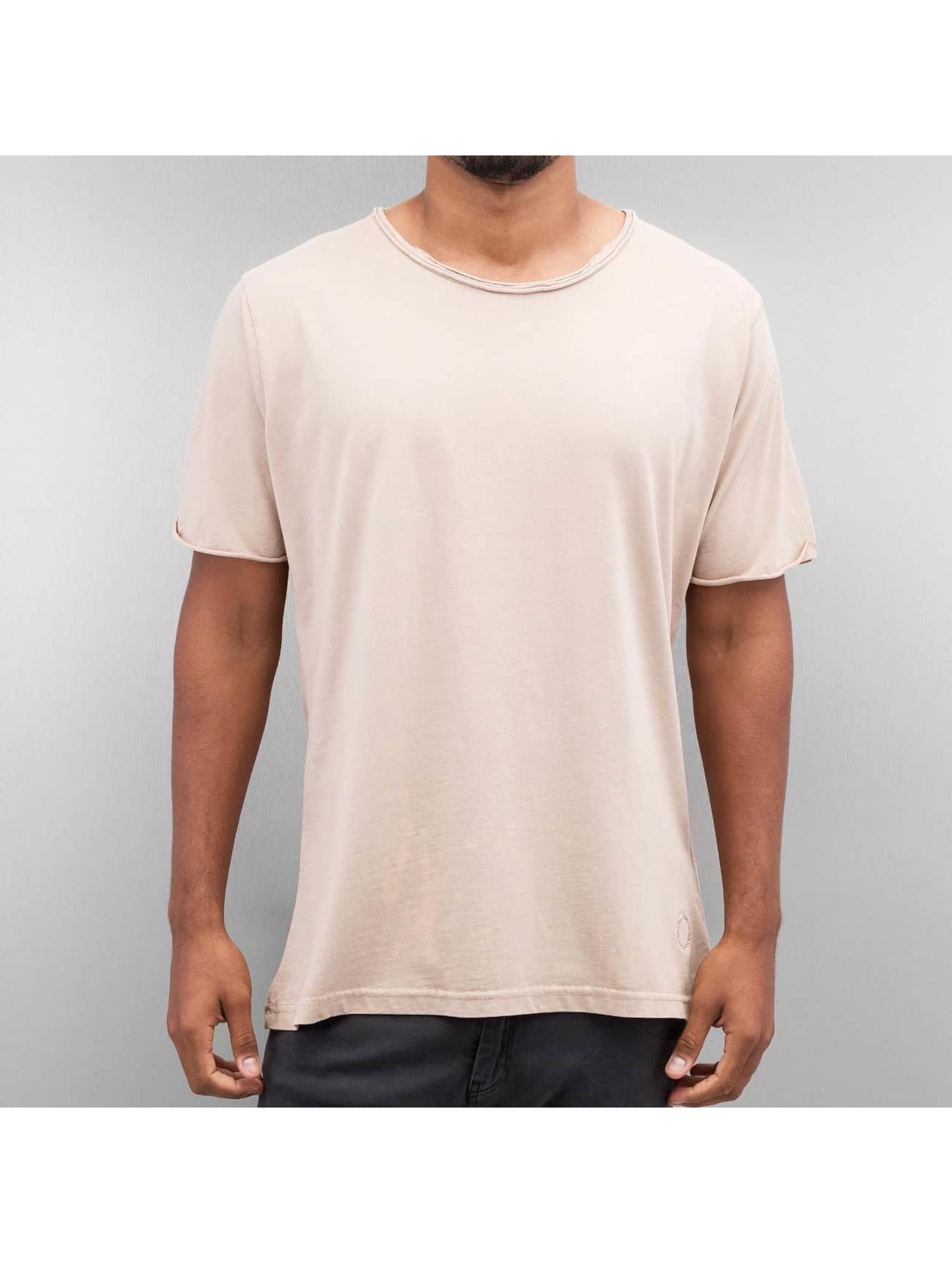 Yezz Männer T-Shirt Bleched in rosa