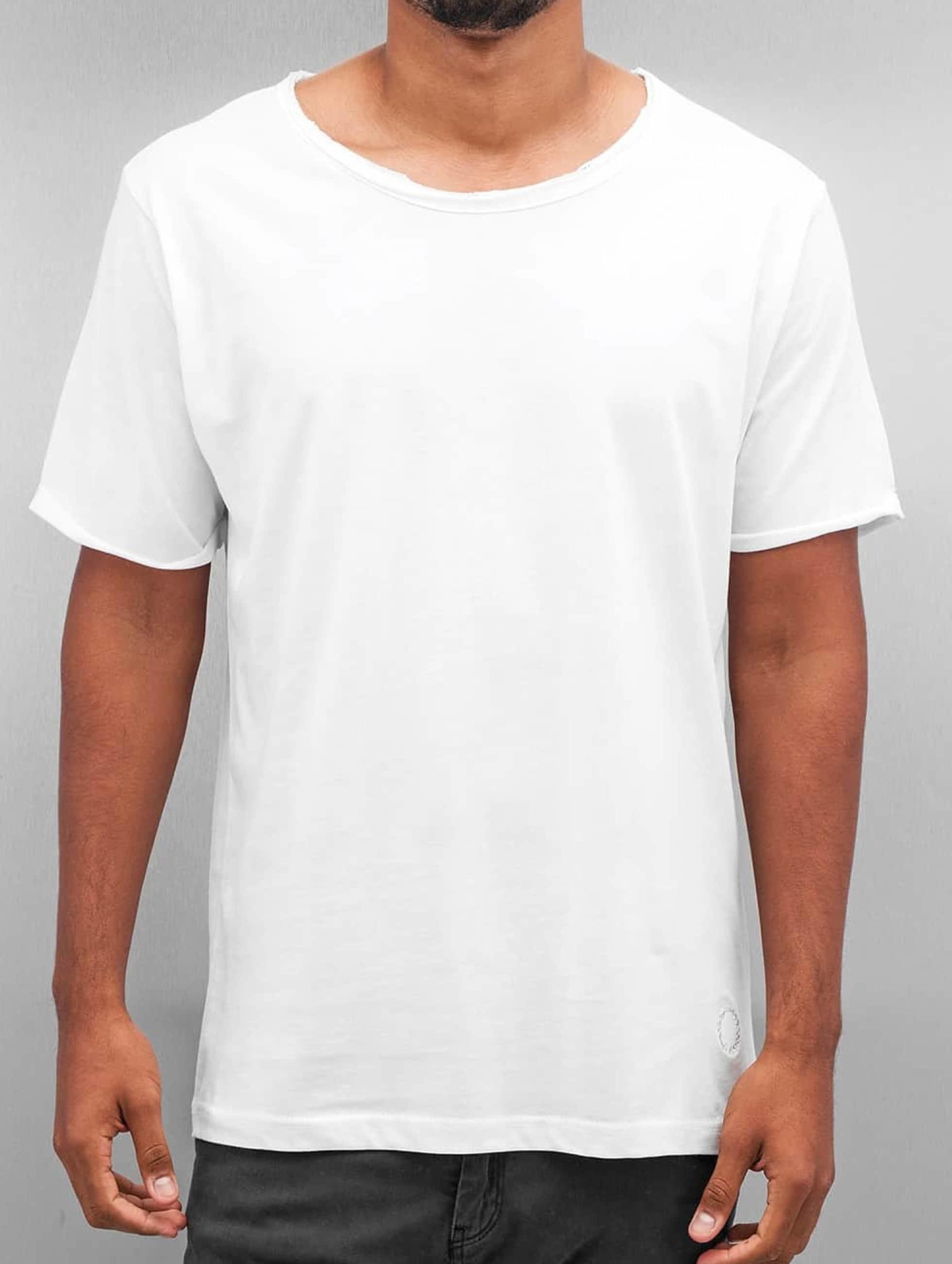 Yezz Männer T-Shirt Blank in weiß