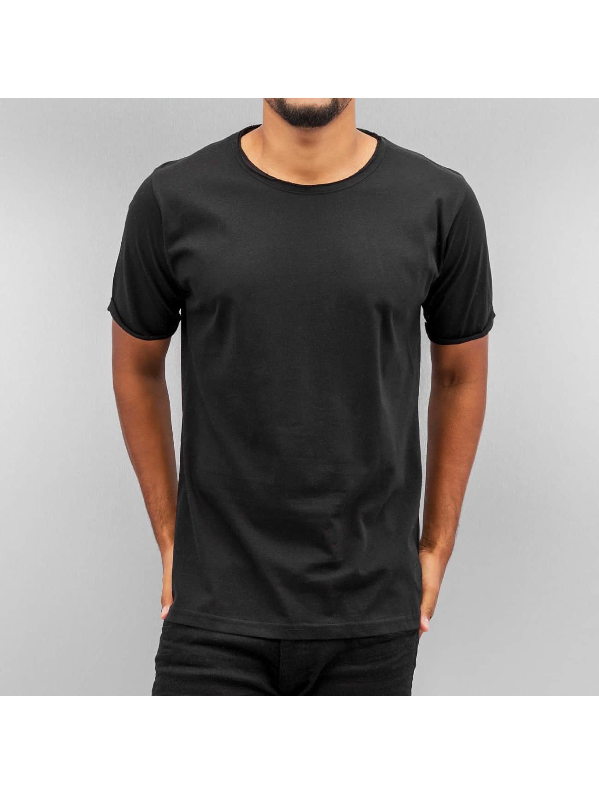 Yezz Männer T-Shirt Blank in schwarz