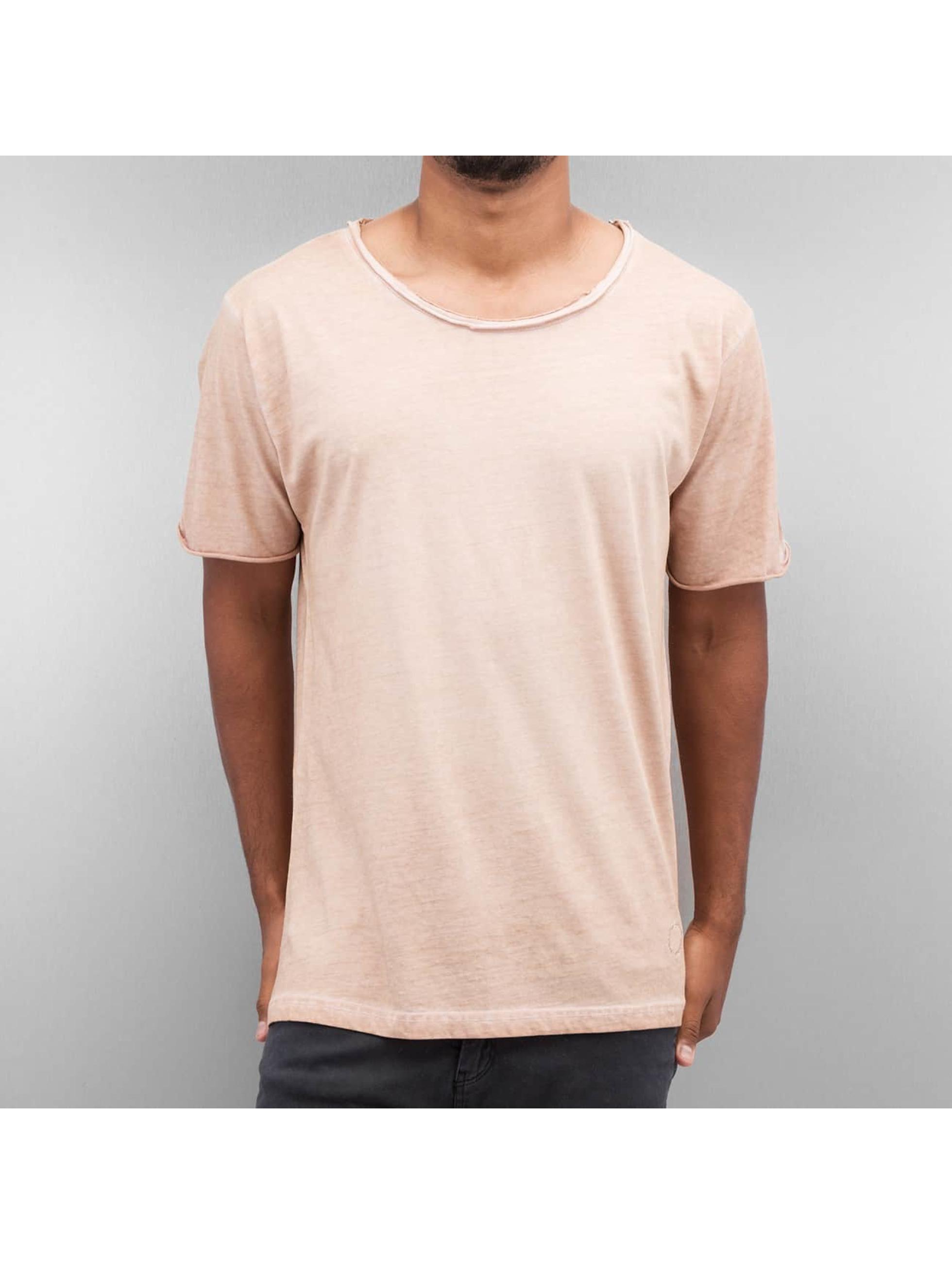 Yezz Männer T-Shirt Dayed in beige