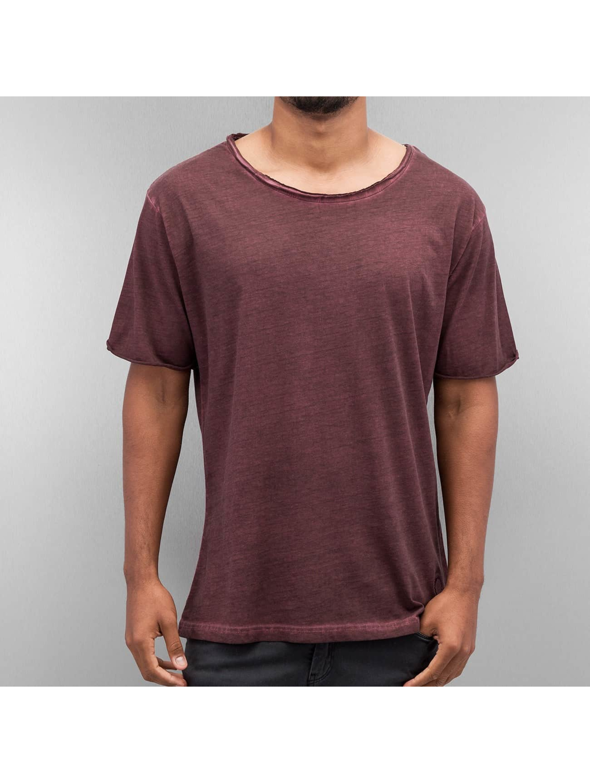 Yezz Männer T-Shirt Dyed in rot