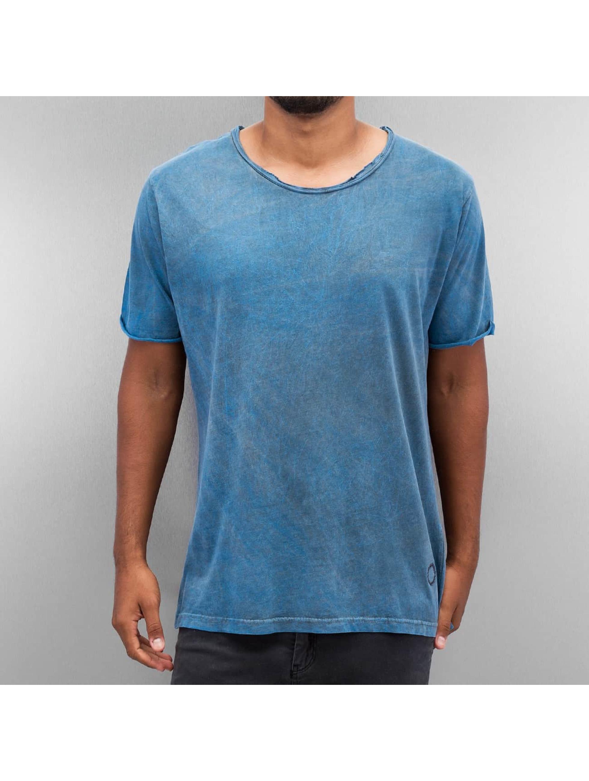 Yezz Männer T-Shirt Marble in blau