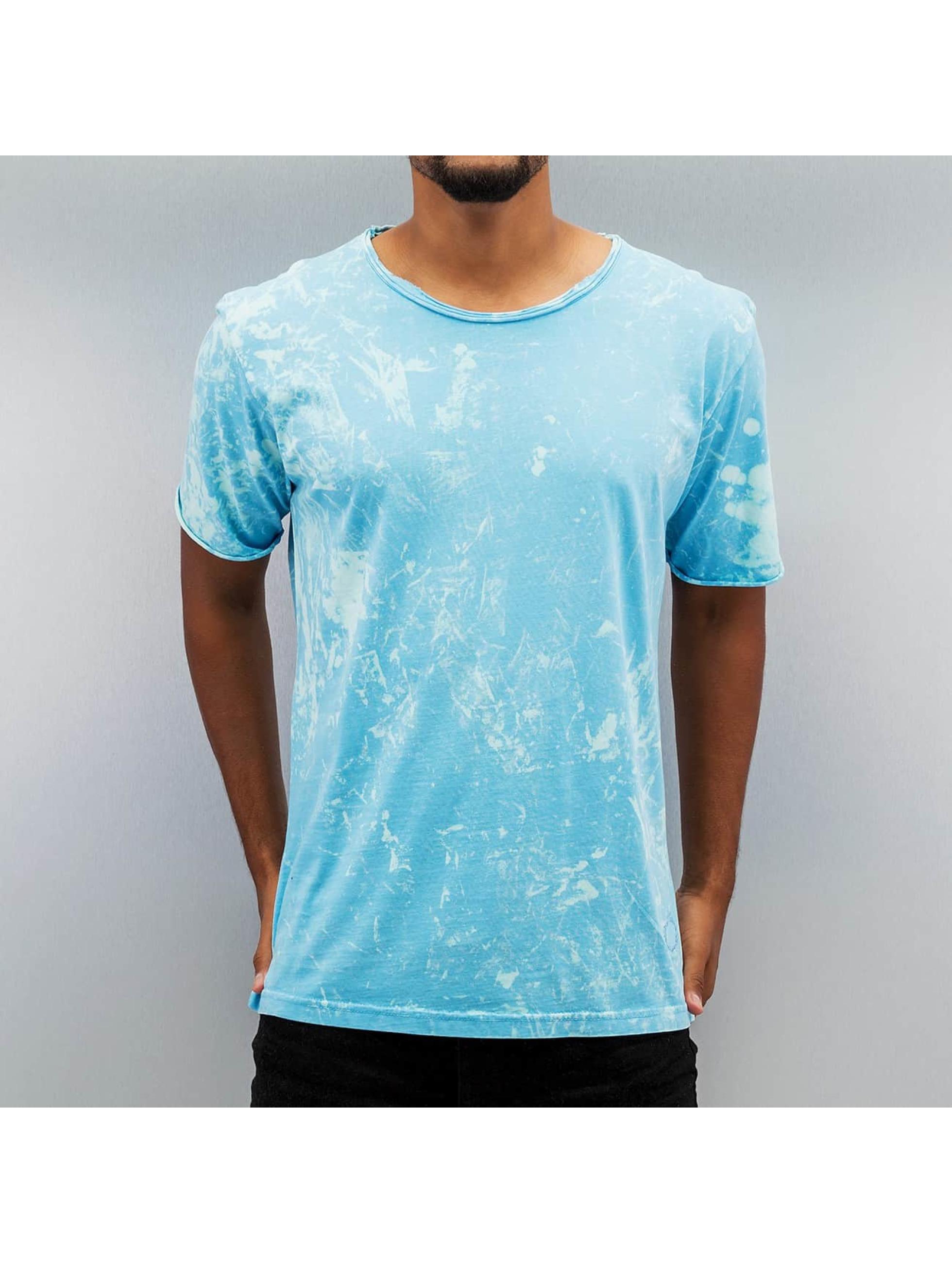 Yezz Männer T-Shirt Acid in blau