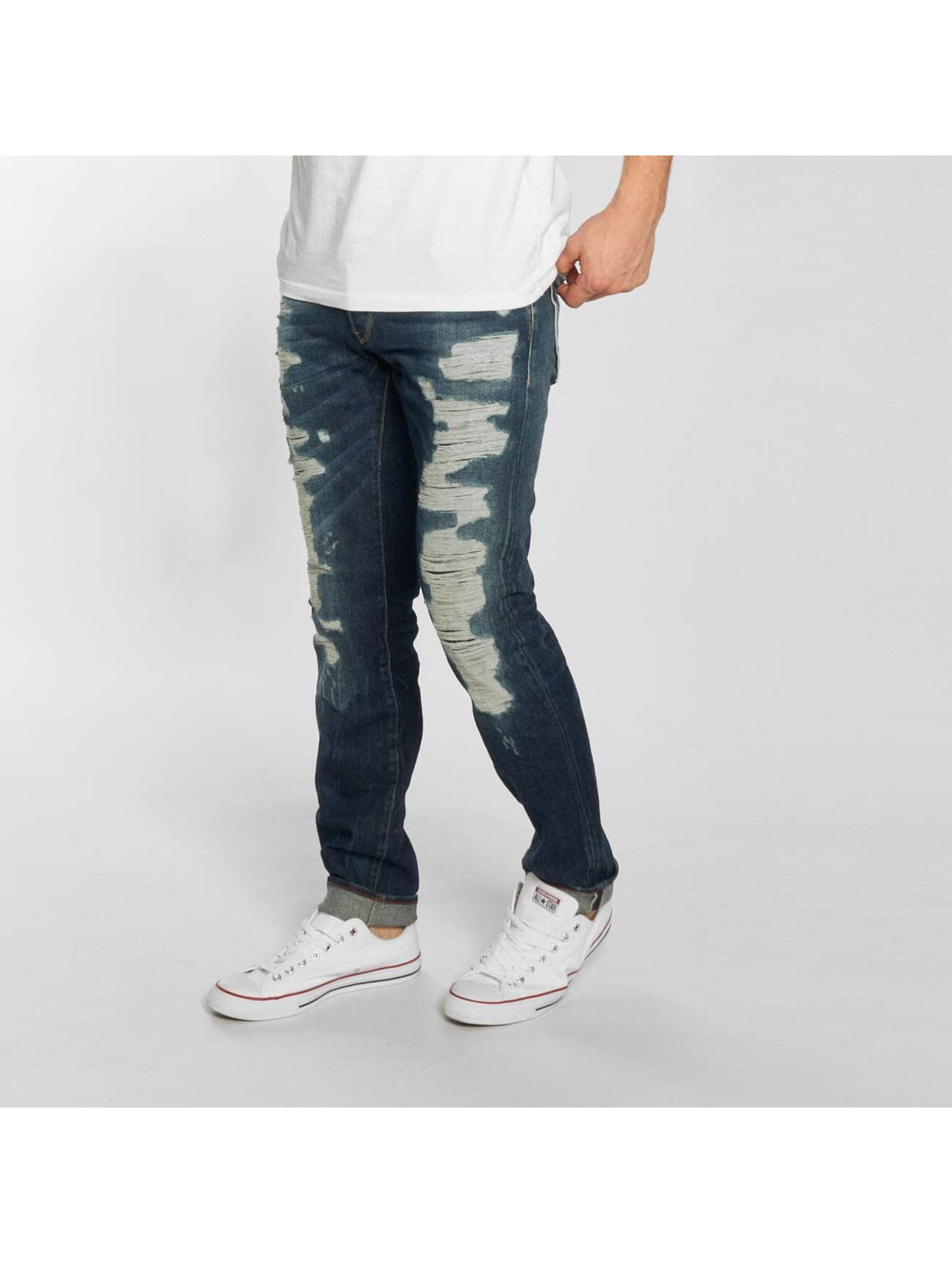 Le Temps Des Cerises Männer Loose Fit Jeans 711 Justi in blau