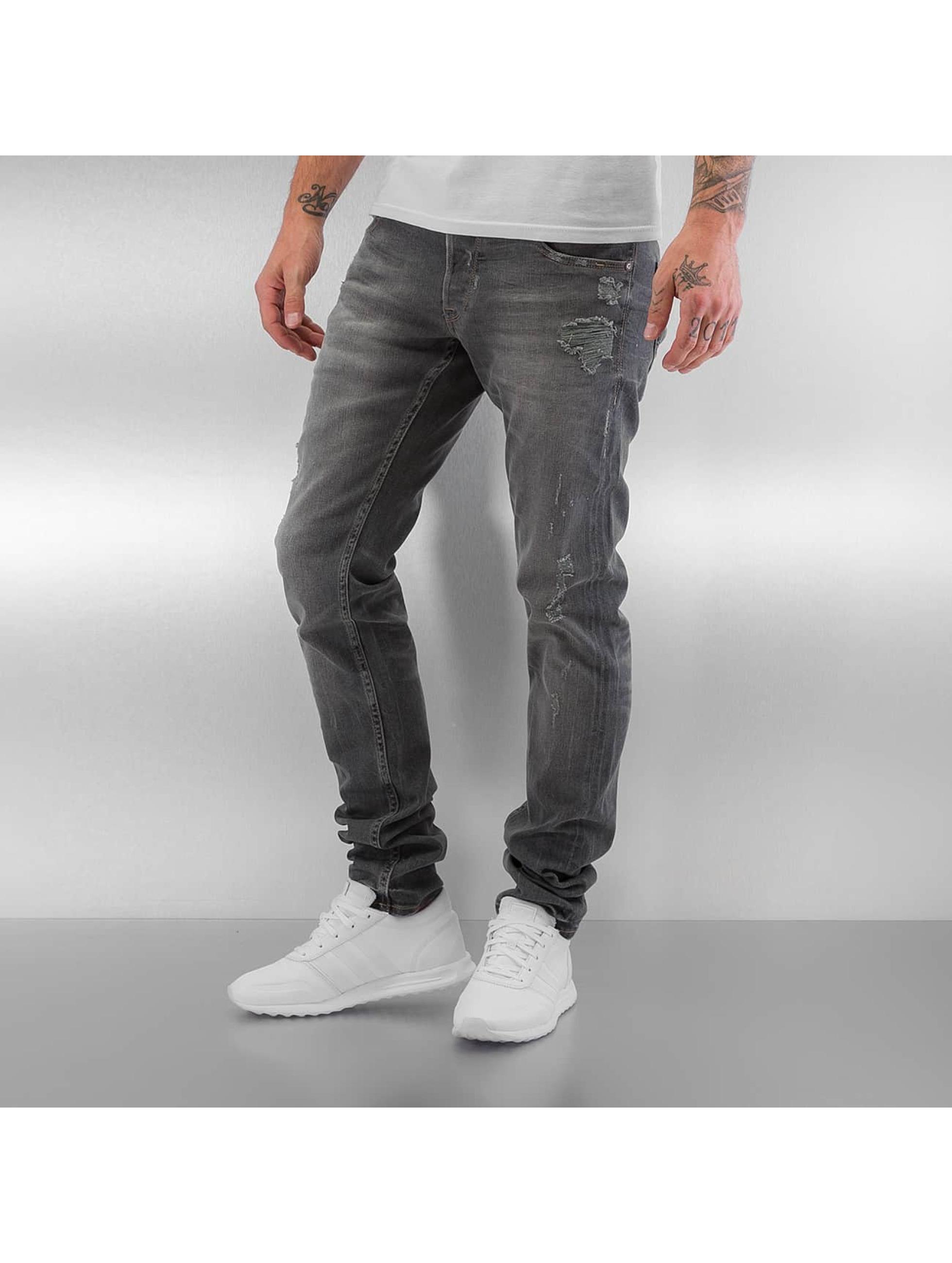 Le Temps Des Cerises Männer Loose Fit Jeans 711 Basic in grau
