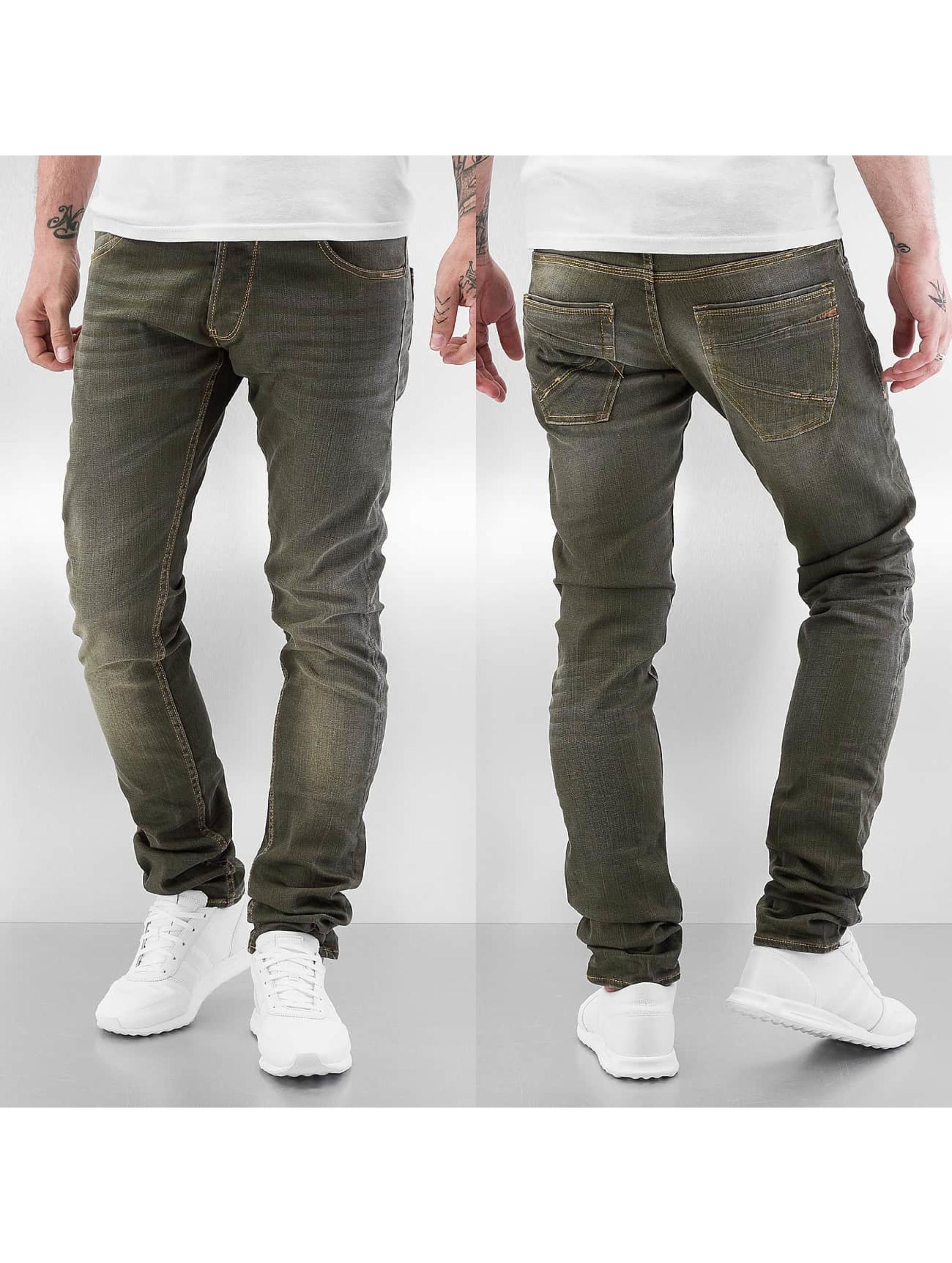 Le Temps Des Cerises Männer Loose Fit Jeans 711 Basic in khaki