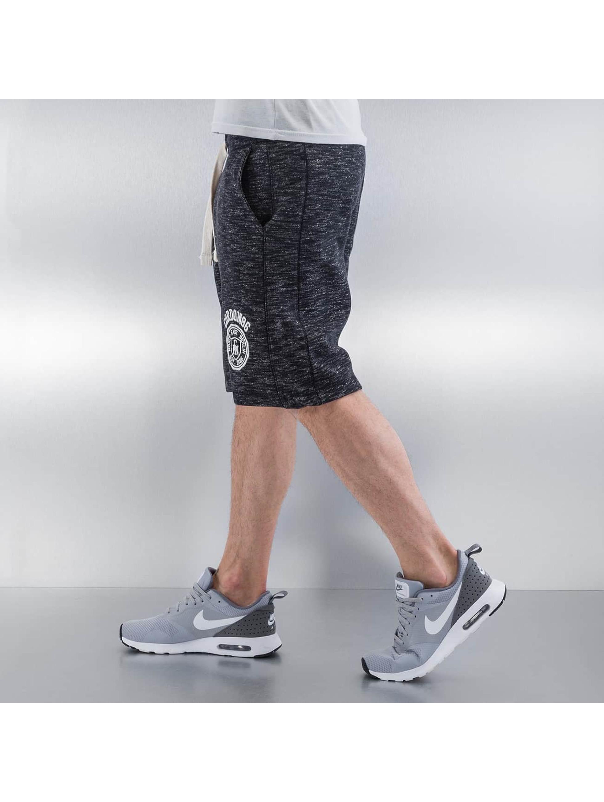Cordon Männer Shorts Piero in schwarz