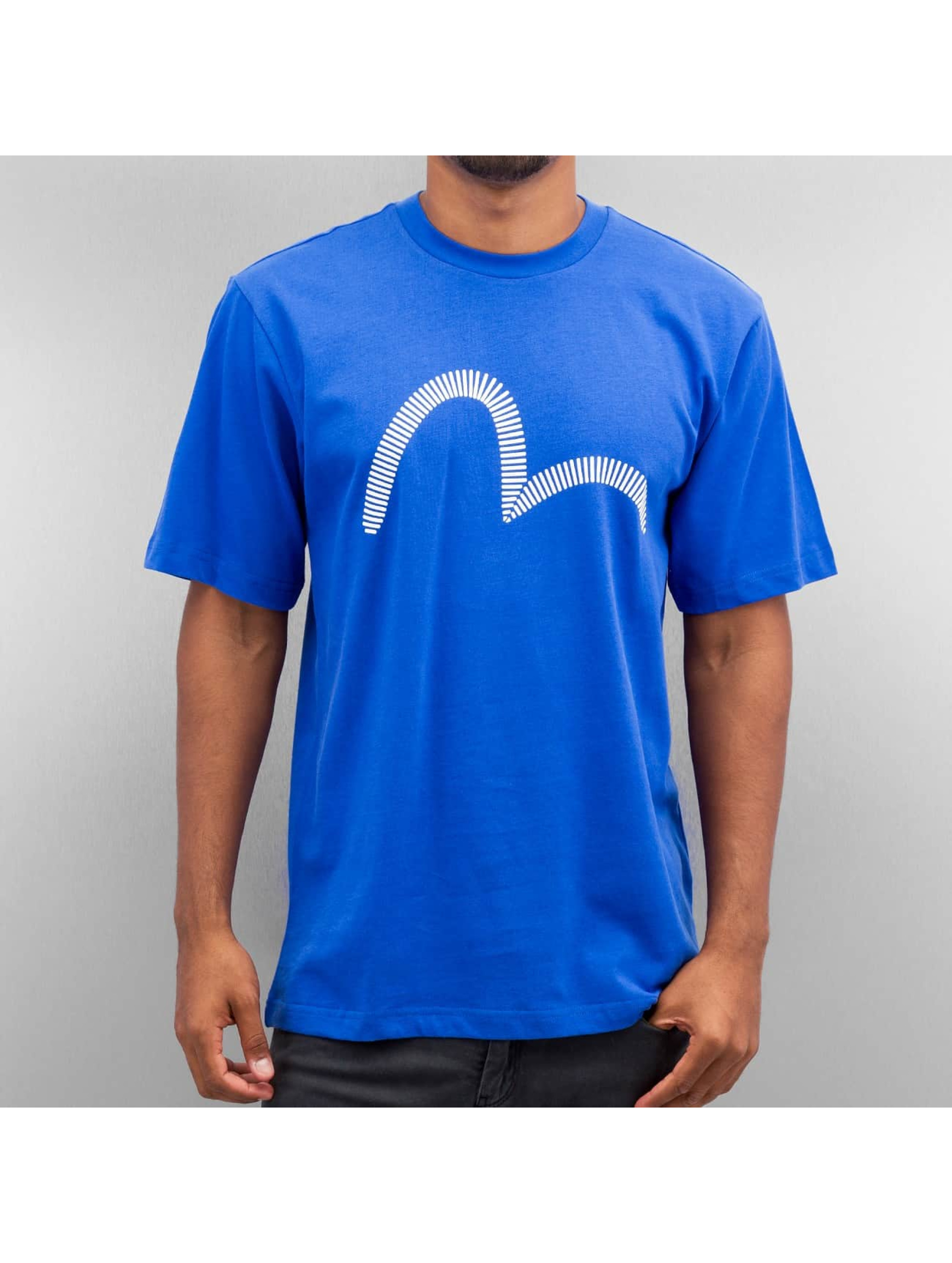 EVISU Männer T-Shirt Seagull in blau