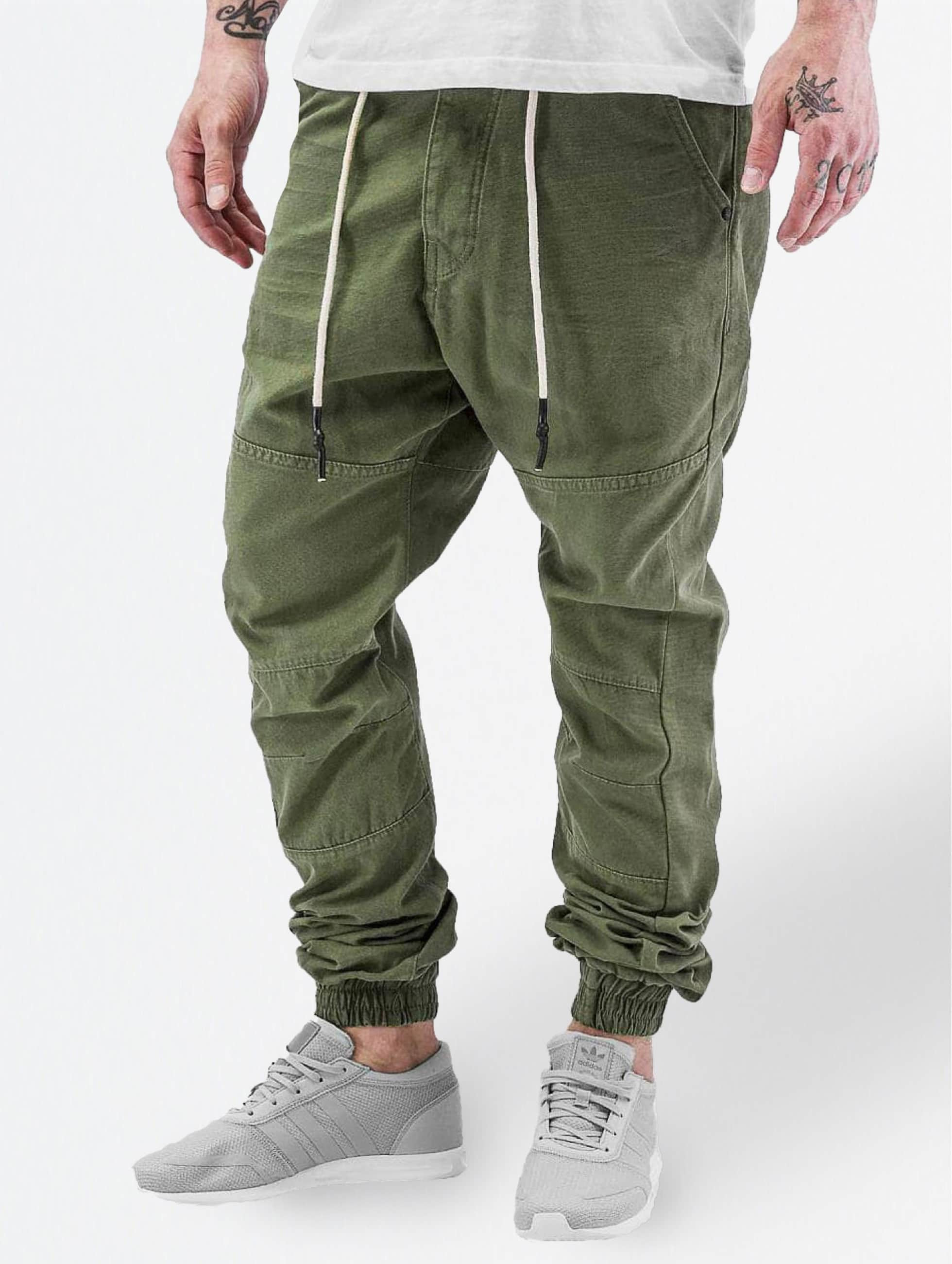 Just Rhyse / Chino Börge in olive W 32