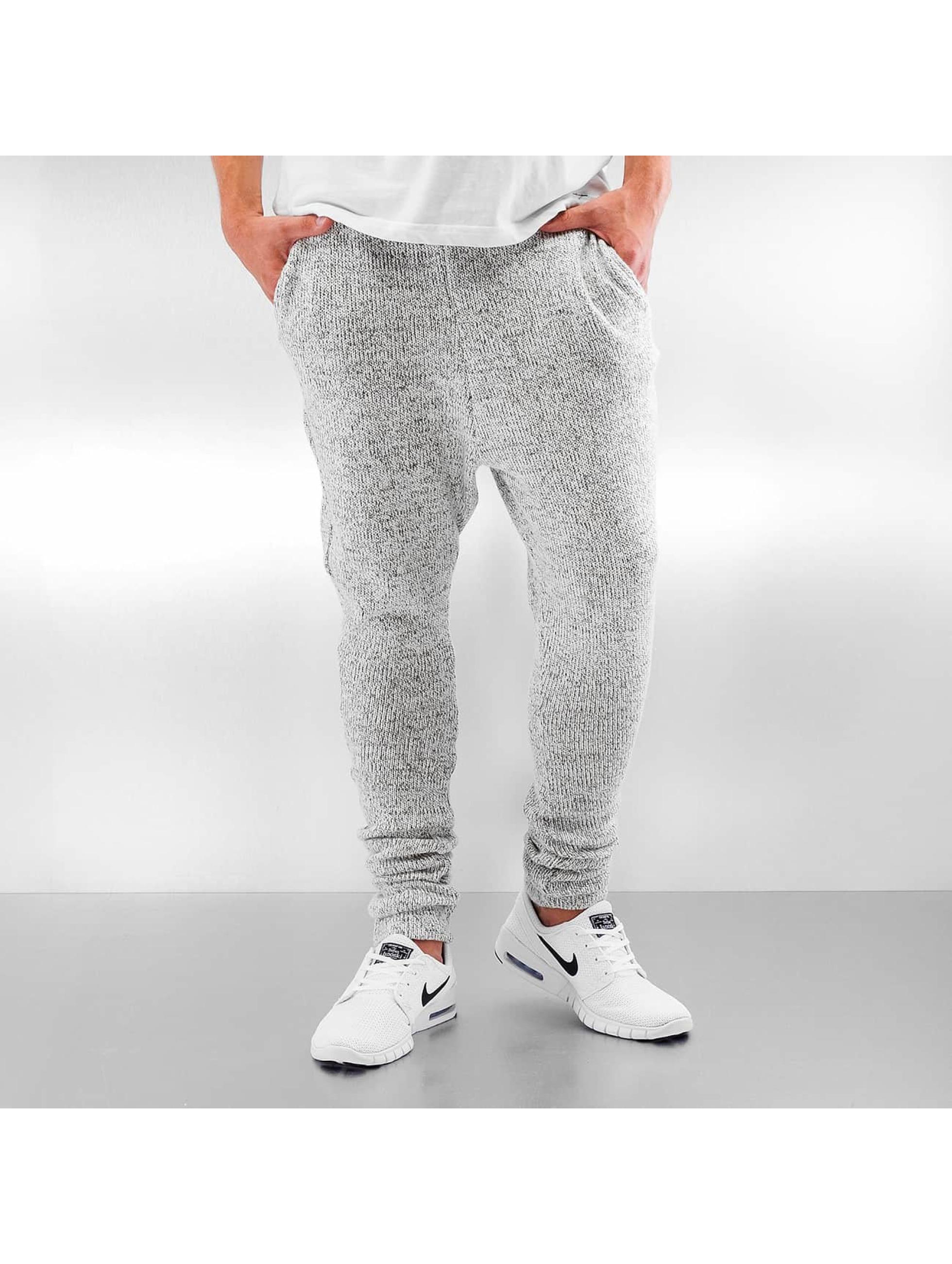 DEF Männer Jogginghose Knit in grau