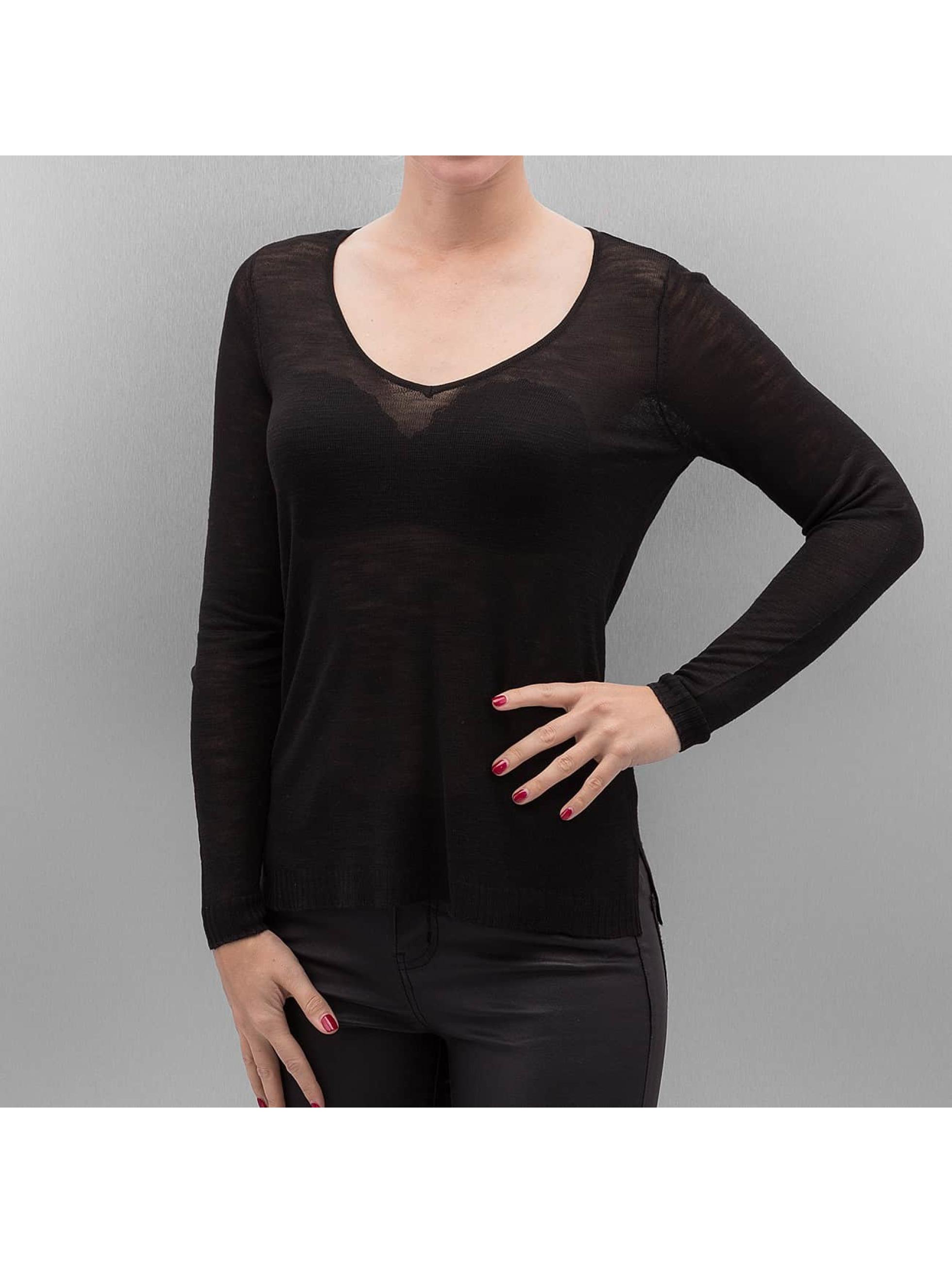 Only Frauen Pullover onlLucinda in schwarz