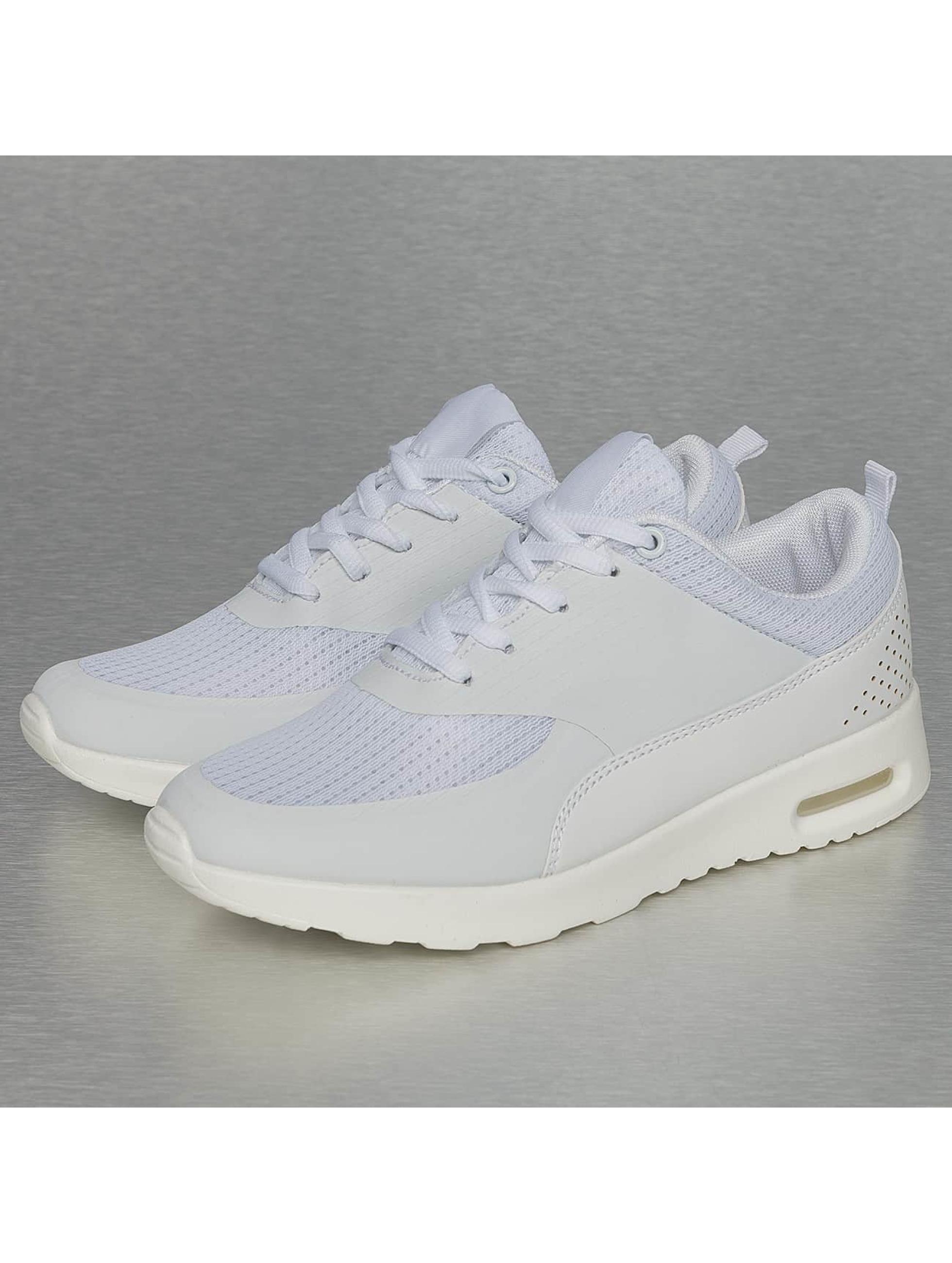 Jumex Frauen Sneaker Basic Sport in weiß