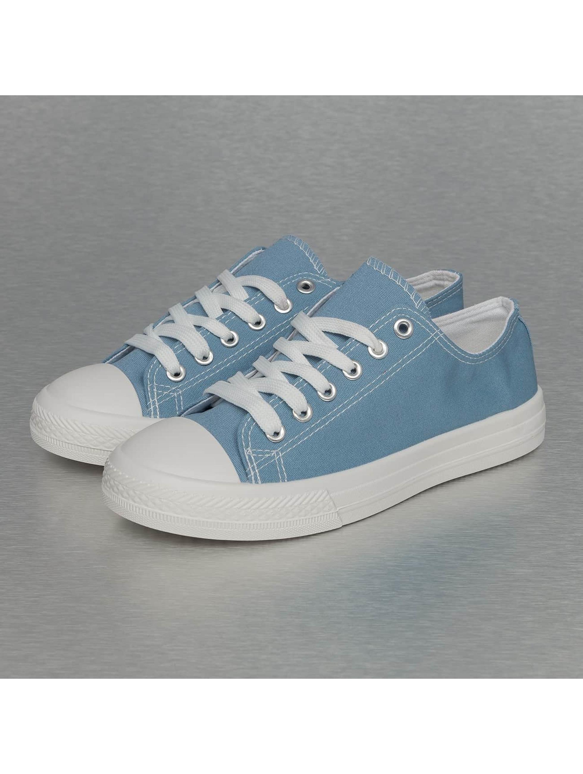 Jumex Frauen Sneaker Basic Low in blau