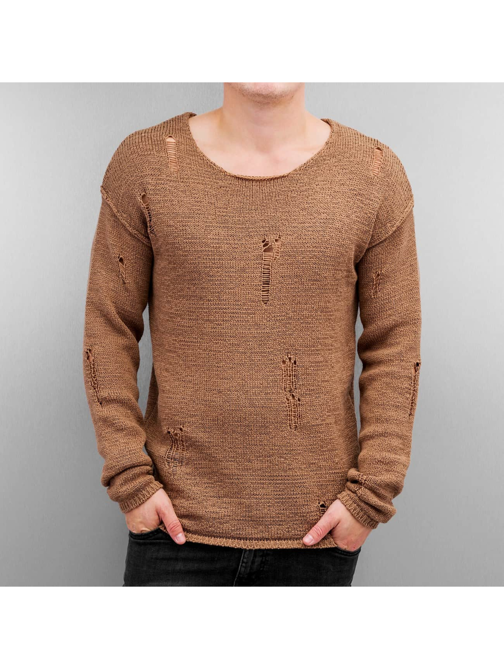 Jack & Jones Männer Pullover 12115685 in beige