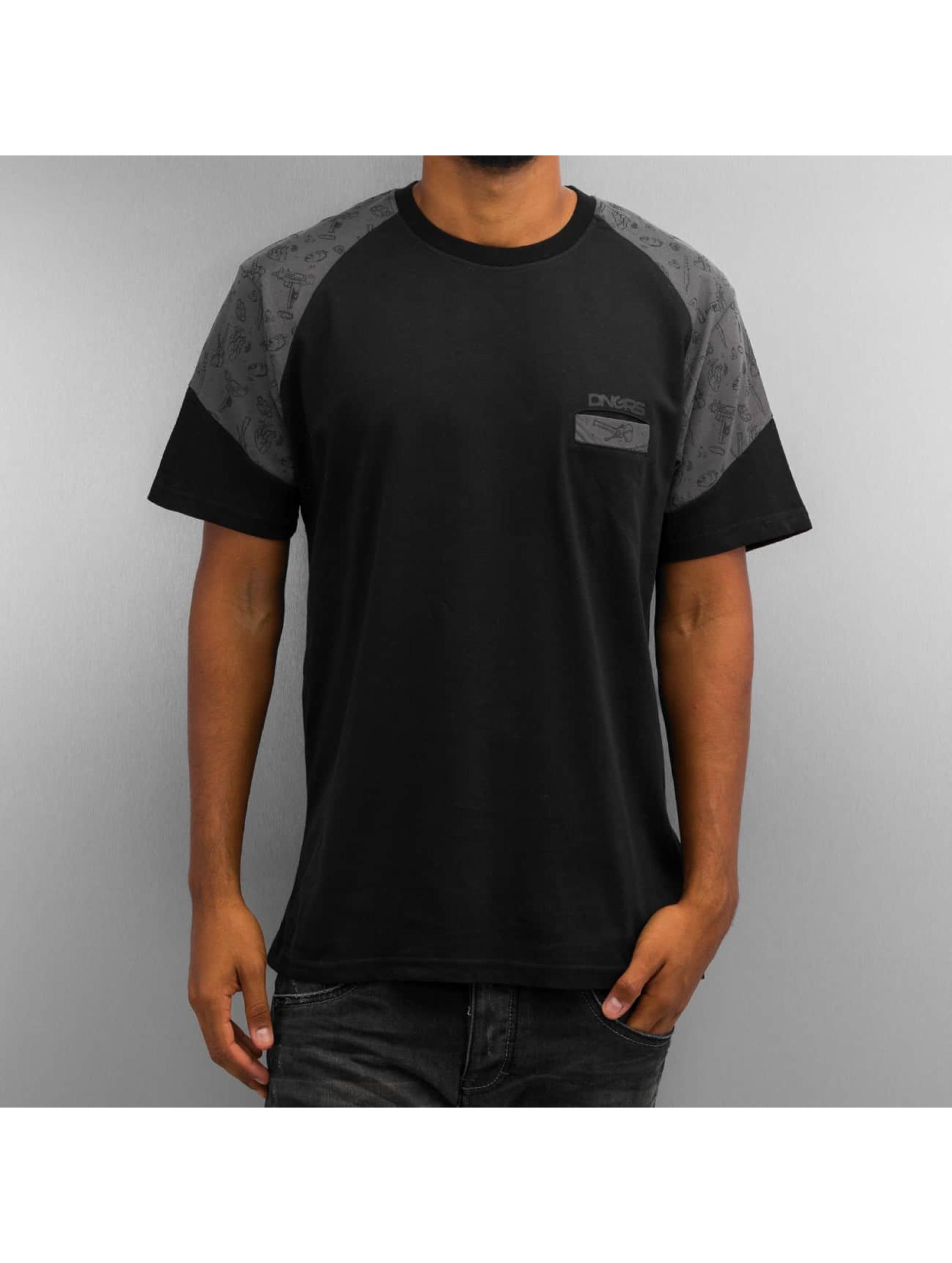 Dangerous DNGRS Männer T-Shirt Cirilo in schwarz