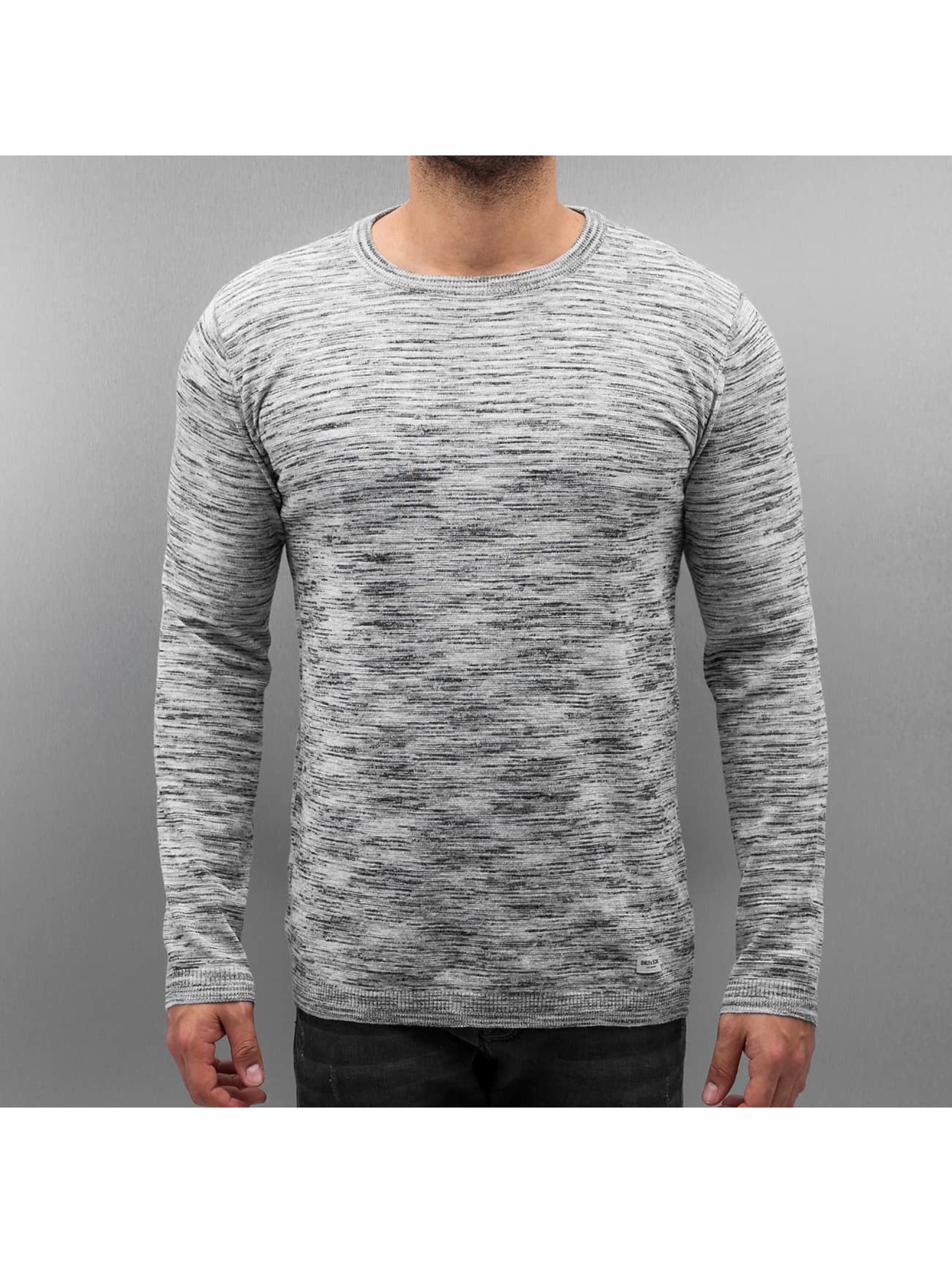 Only & Sons Männer Pullover onsAbacas in grau