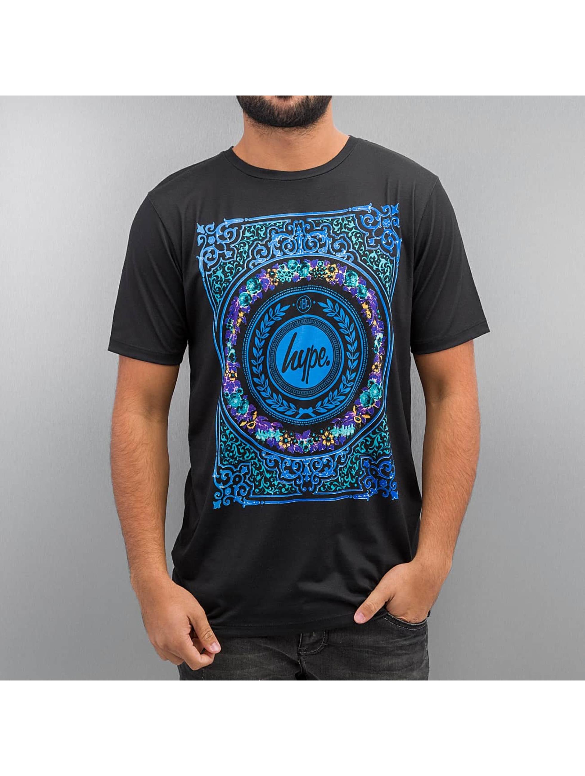 HYPE Männer T-Shirt Regal in schwarz