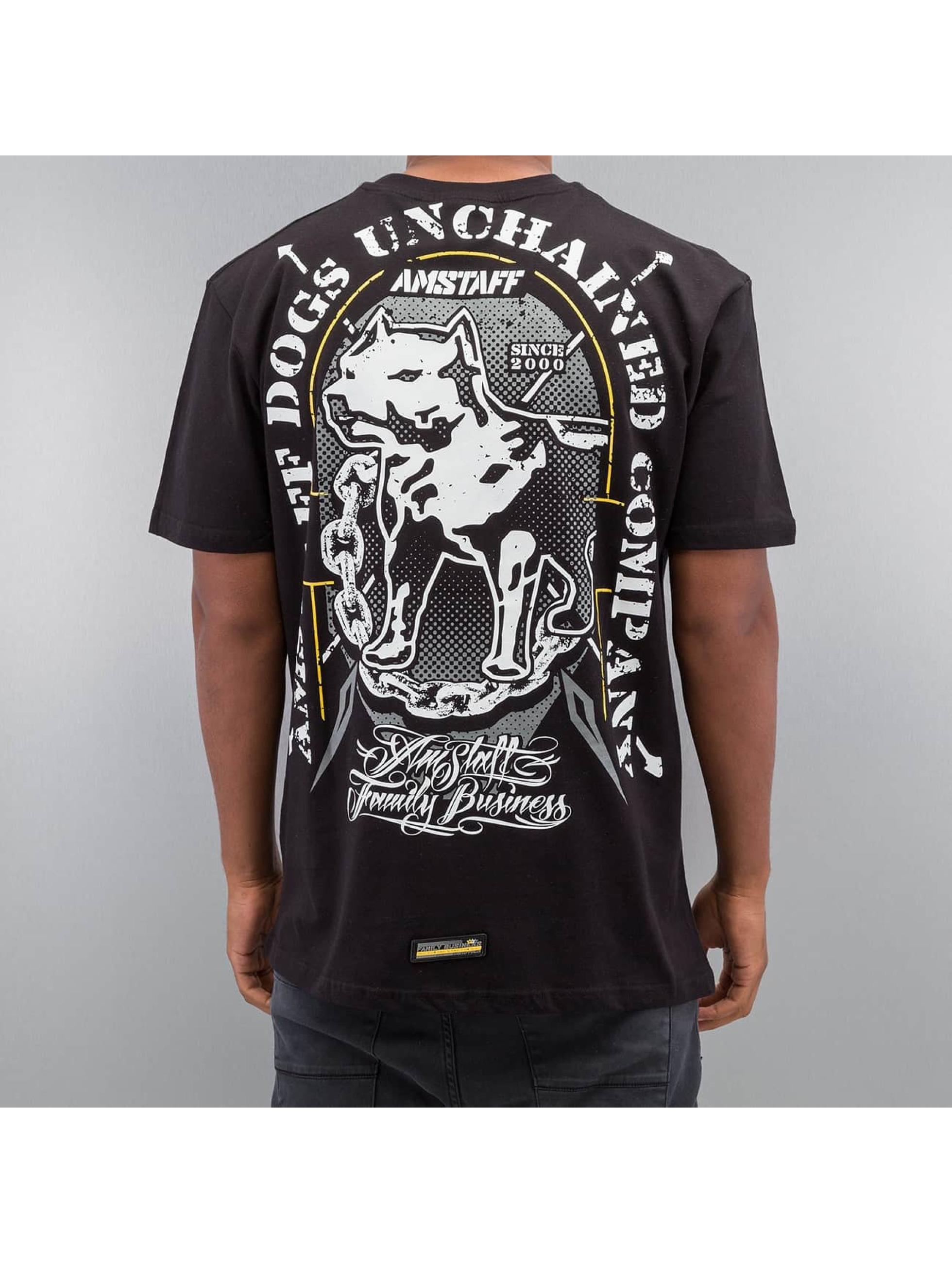 Amstaff Männer T-Shirt Galan in schwarz