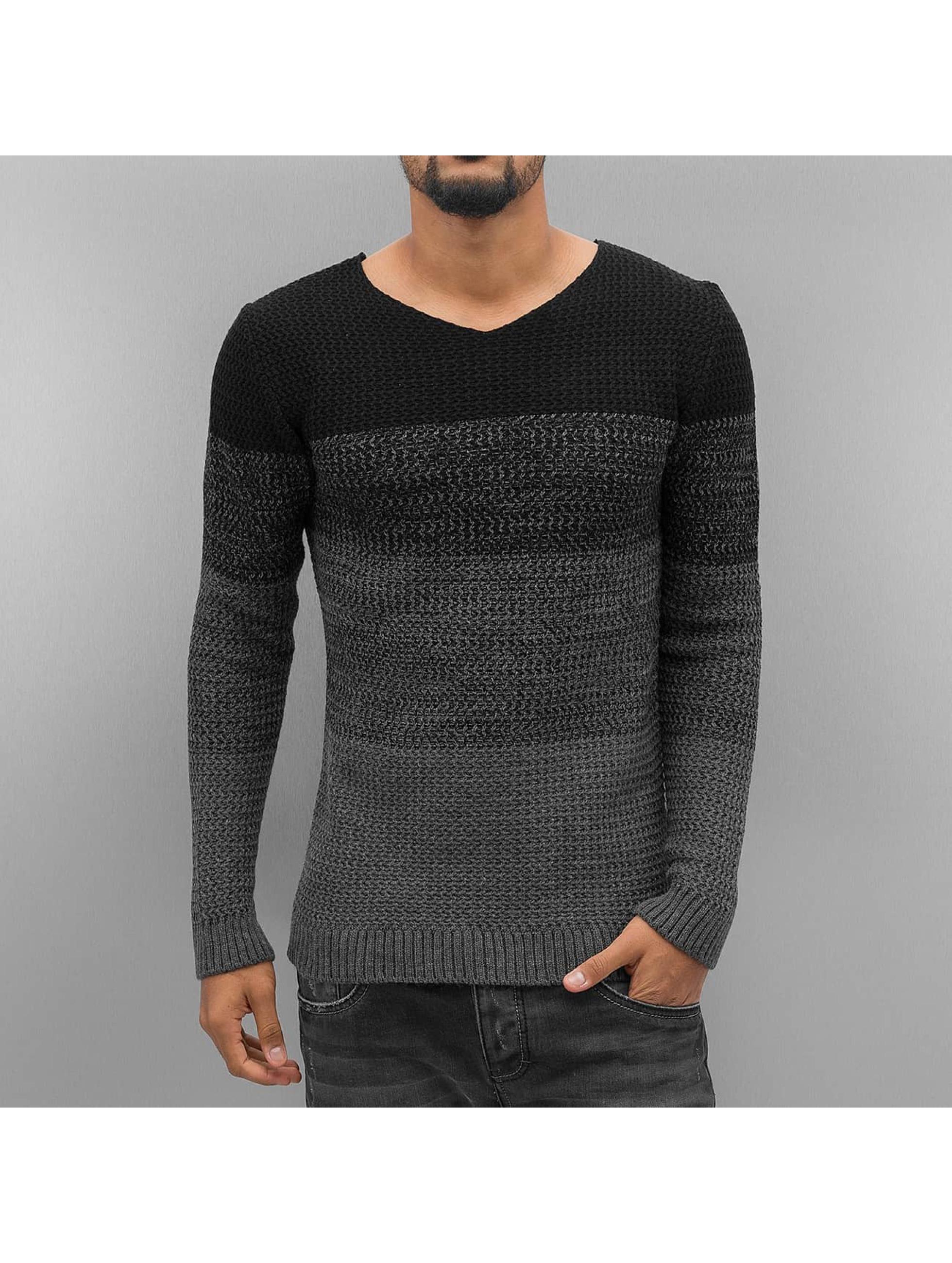 VSCT Clubwear Männer Pullover Kyushu Printed in schwarz