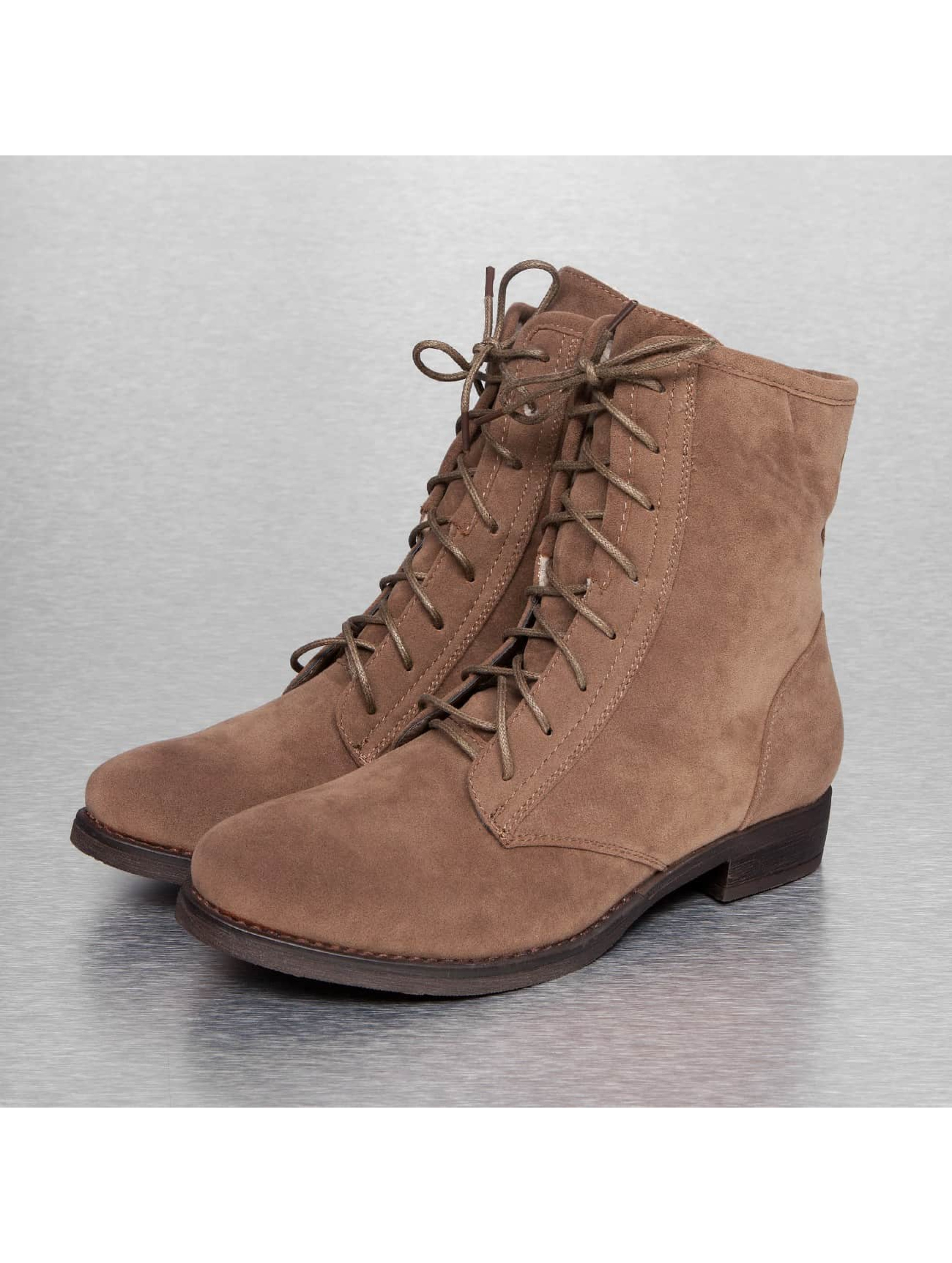 Jumex Frauen Boots Basic in khaki