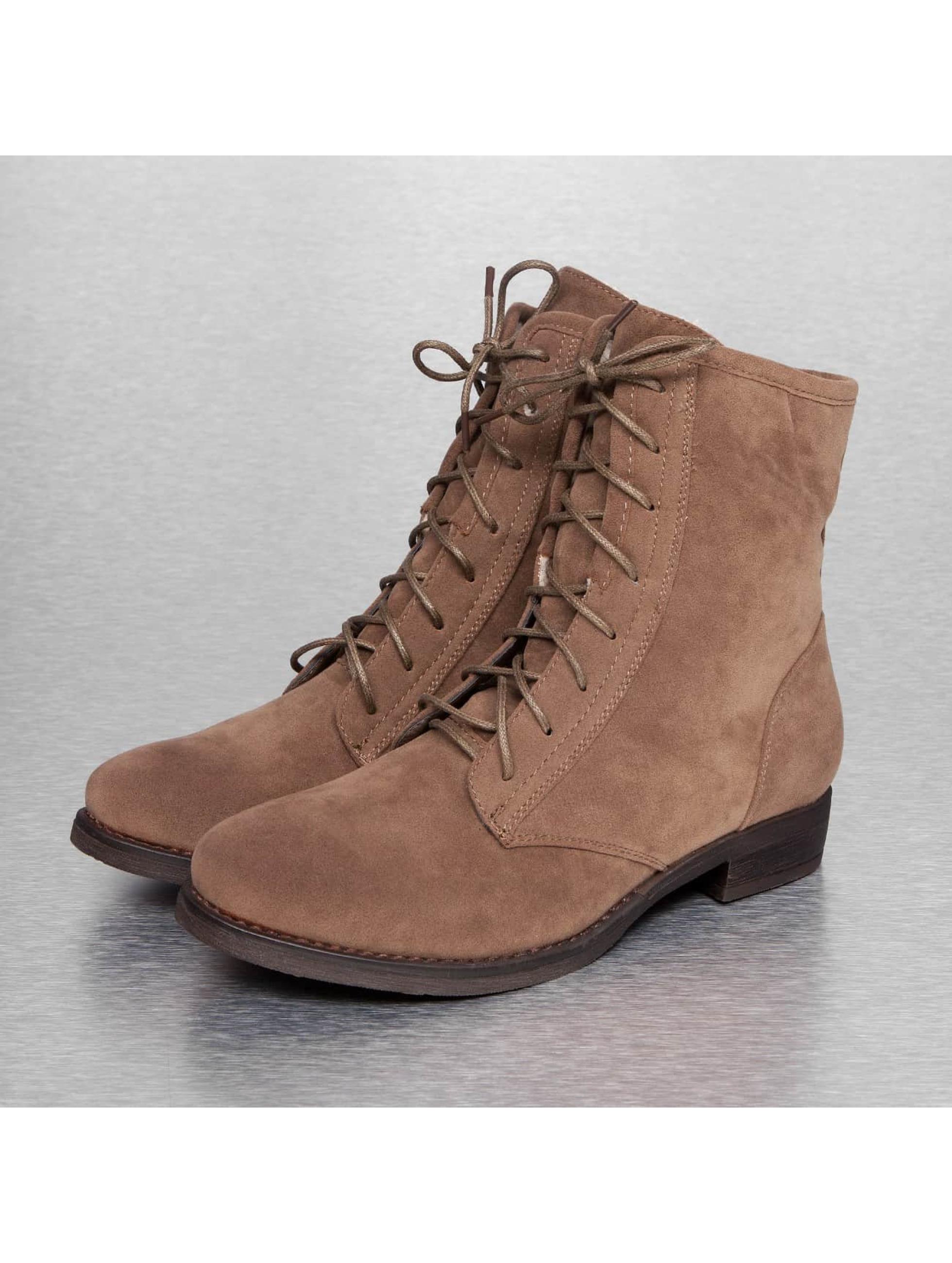 Jumex Frauen Boots Basic in khaki