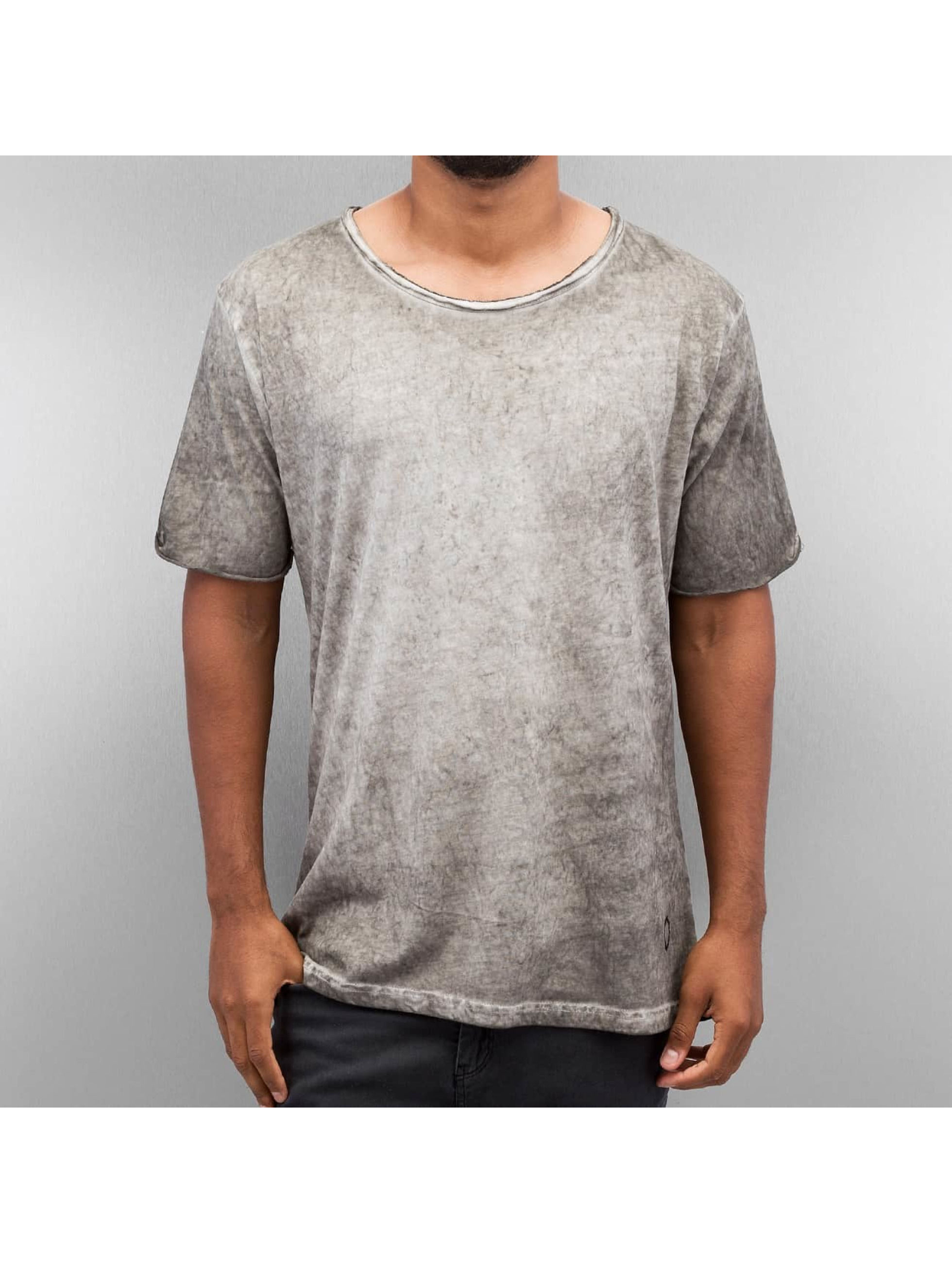 Yezz Männer T-Shirt Washed in grau