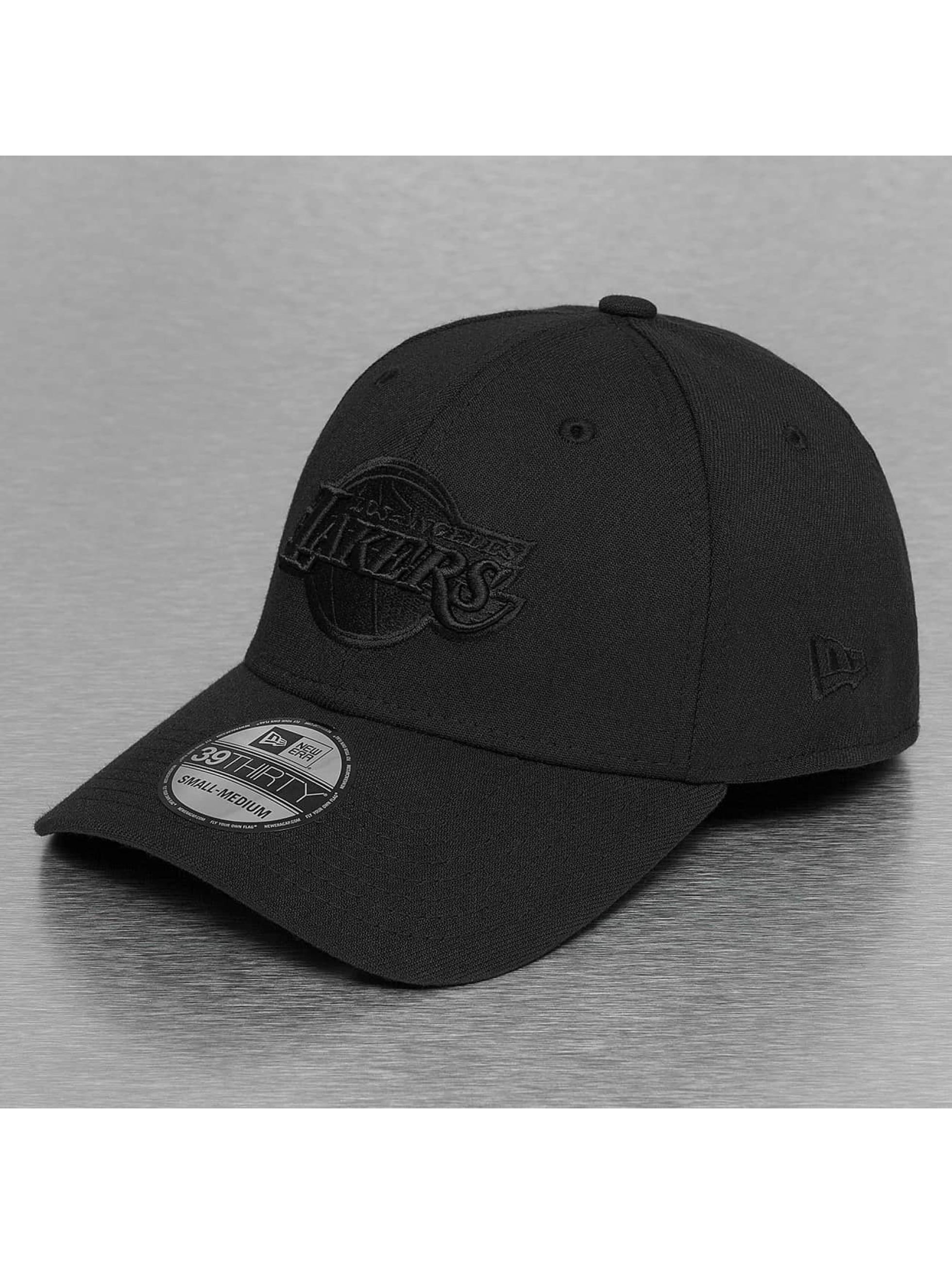 New Era NBA Black On LA Lakers 39Thirty Flexfitted Cap Black/Black Sale Angebote Reuthen