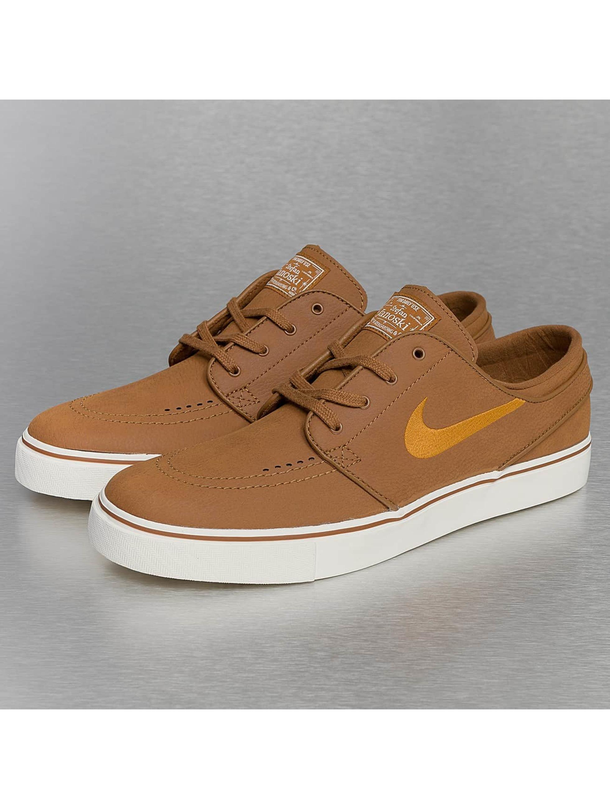 Nike SB Männer Sneaker SB Zoom Stefan Janoski Leather in braun