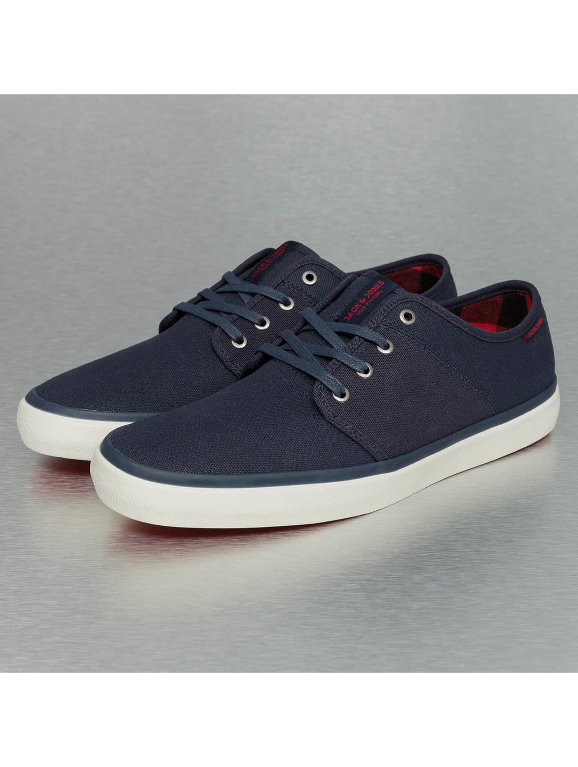 Jack & Jones Männer Sneaker jfwTurbo Waxed Canvas in blau Sale Angebote Laubsdorf