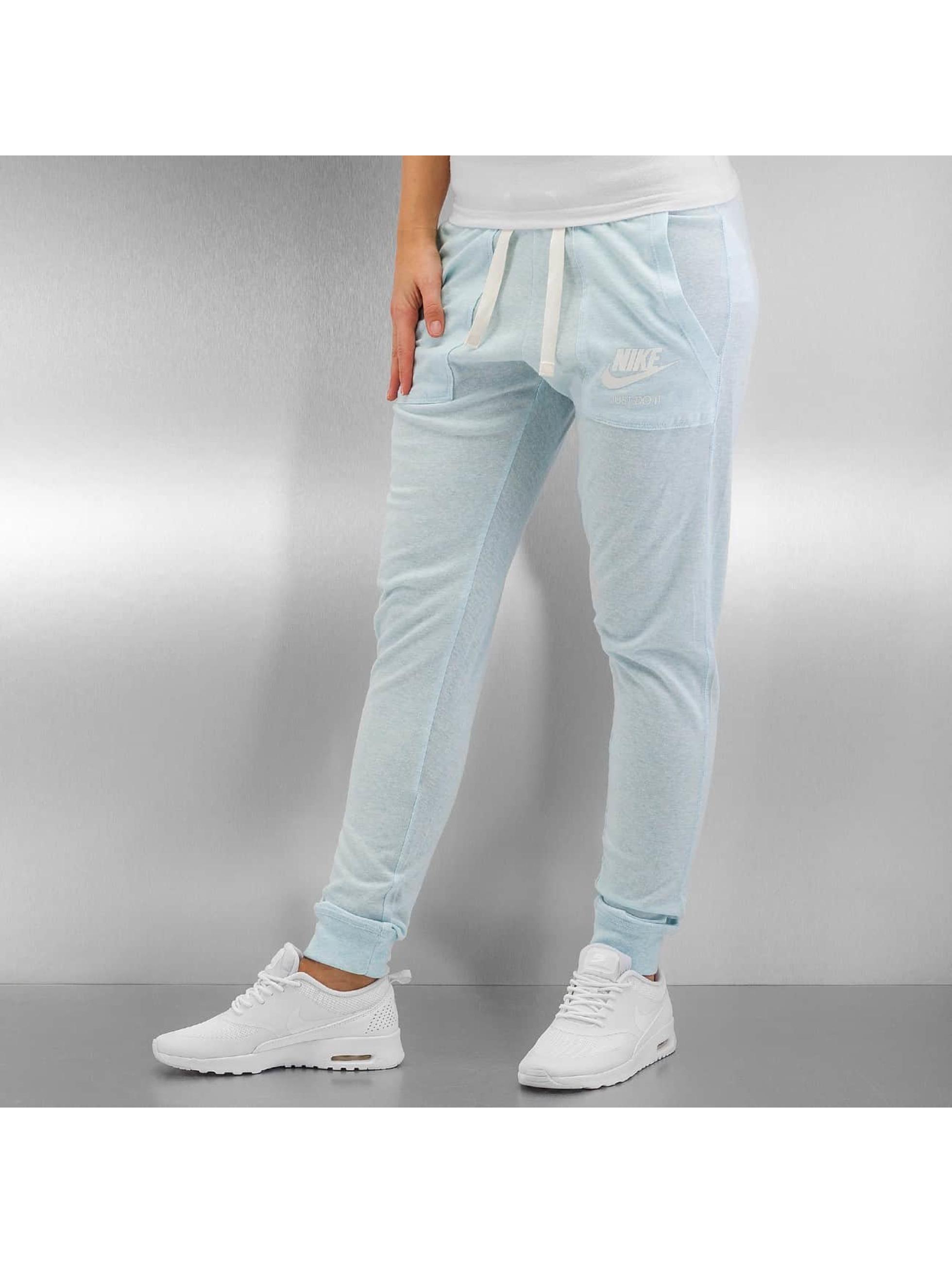 Nike Frauen Jogginghose Gym Vintage in blau