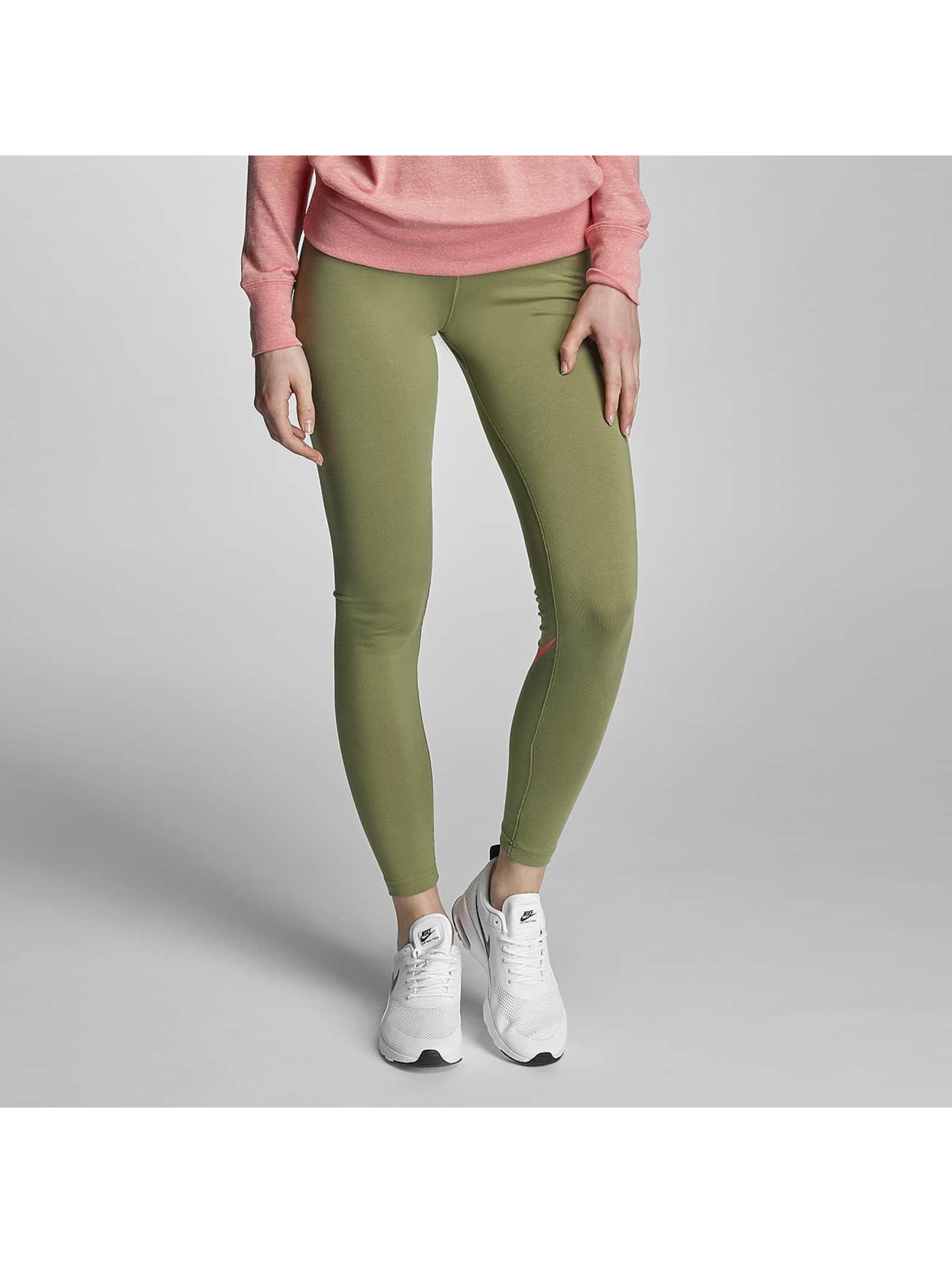 Nike Frauen Legging Leg-A-See Logo in olive