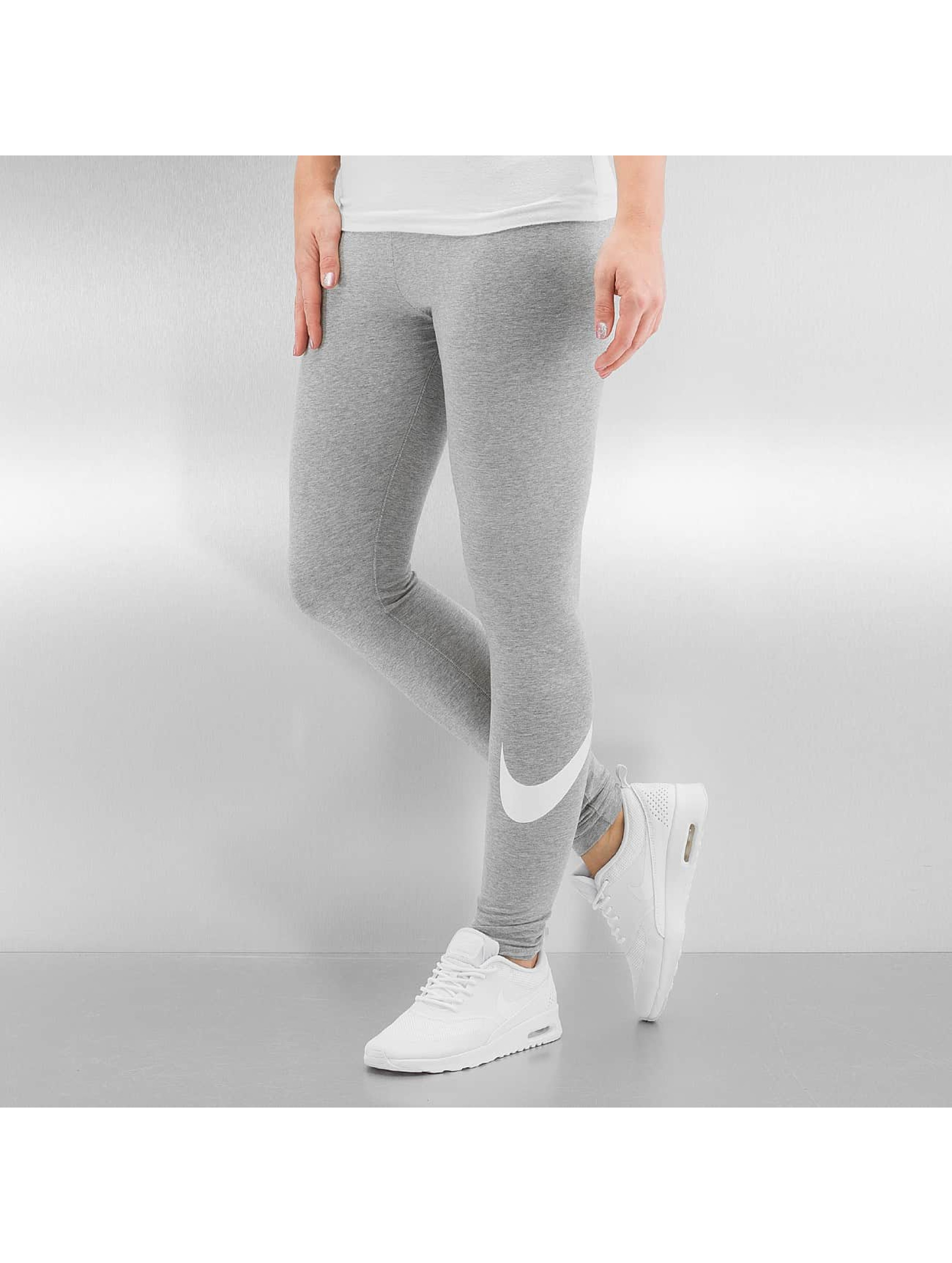 Nike Frauen Legging W NSW Logo Club in grau