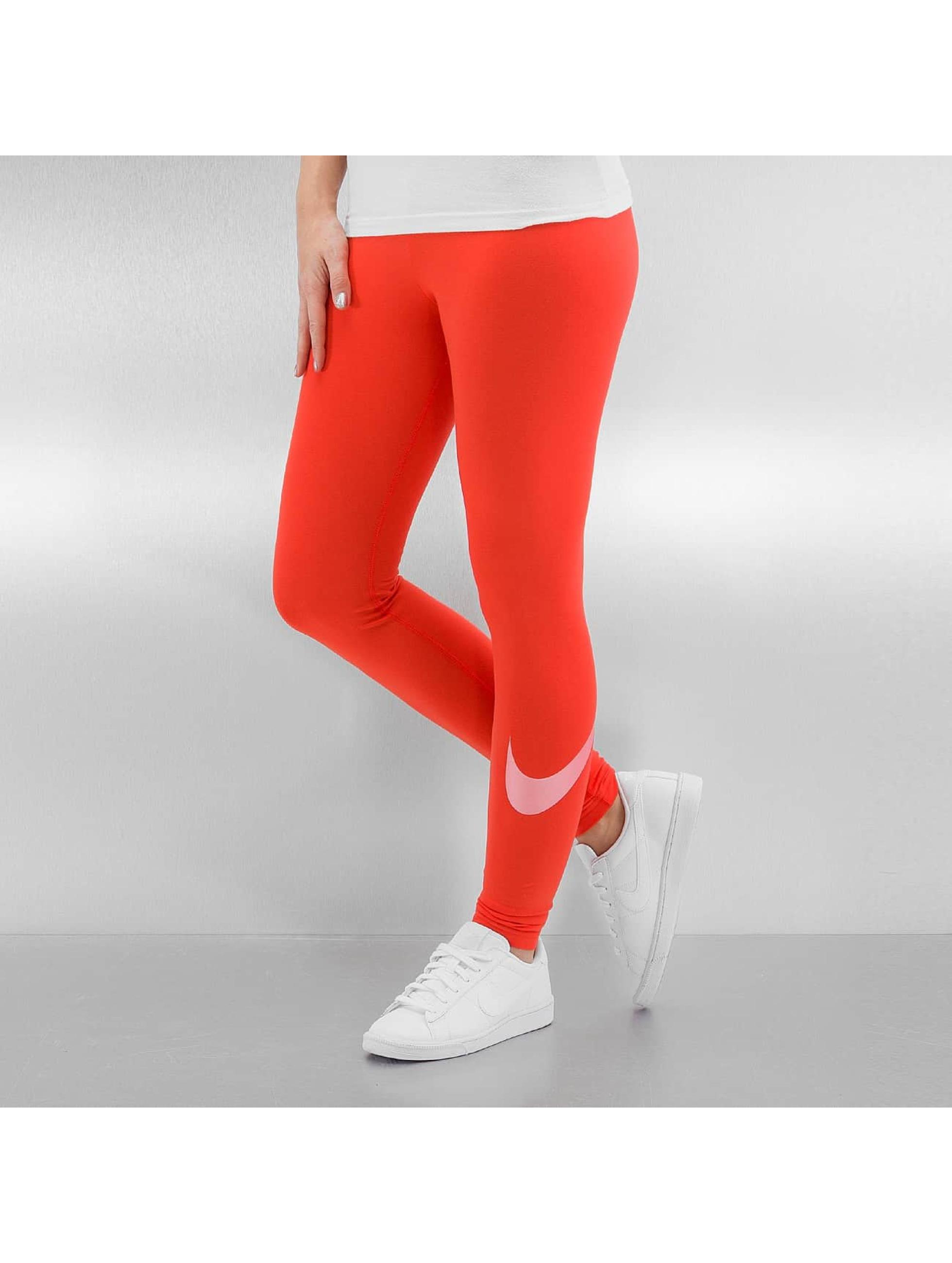 Nike Frauen Legging W NSW Logo Club in orange