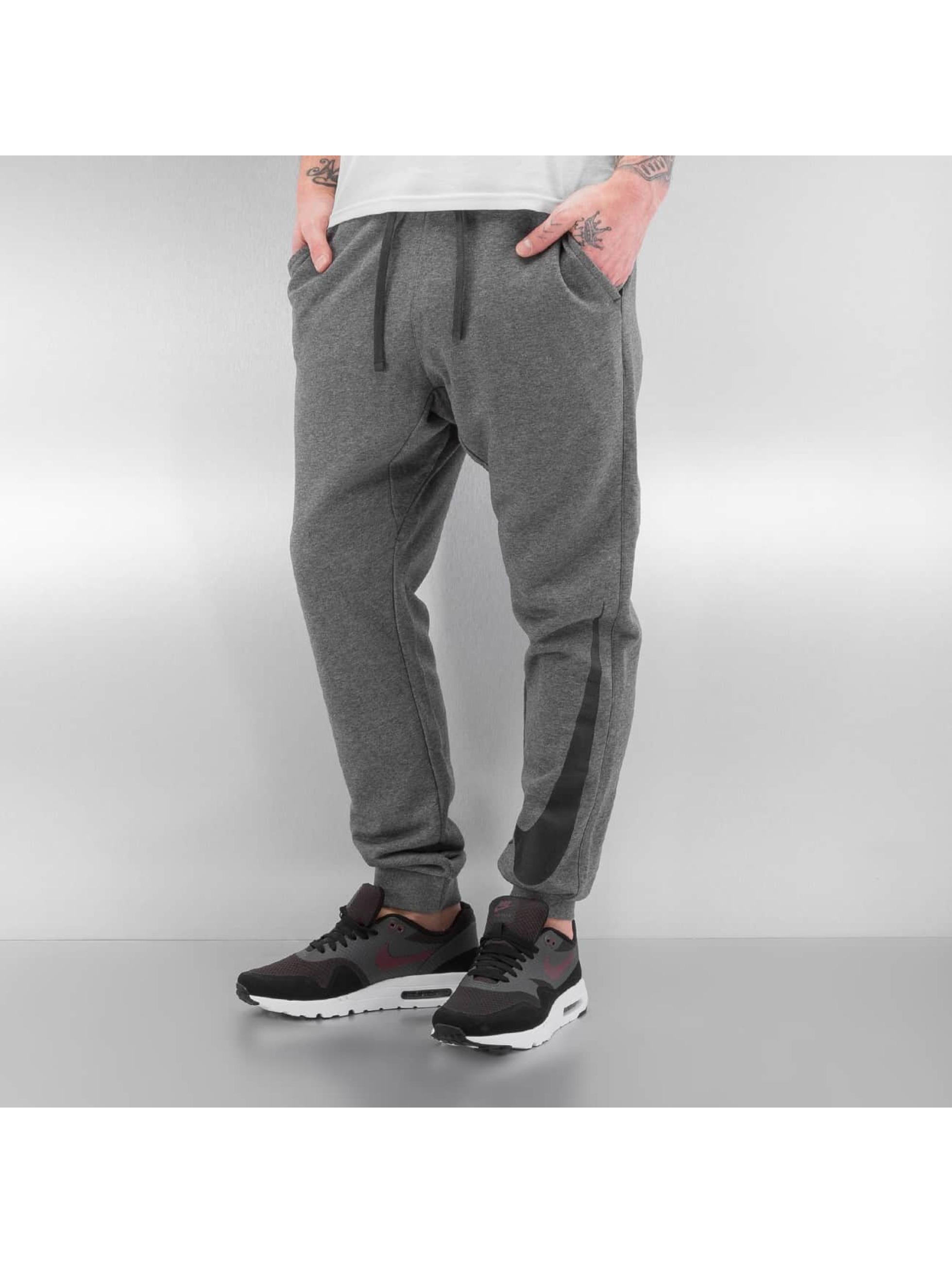 Nike Männer Jogginghose NSW FLC Hybrid in grau Sale Angebote Döbern