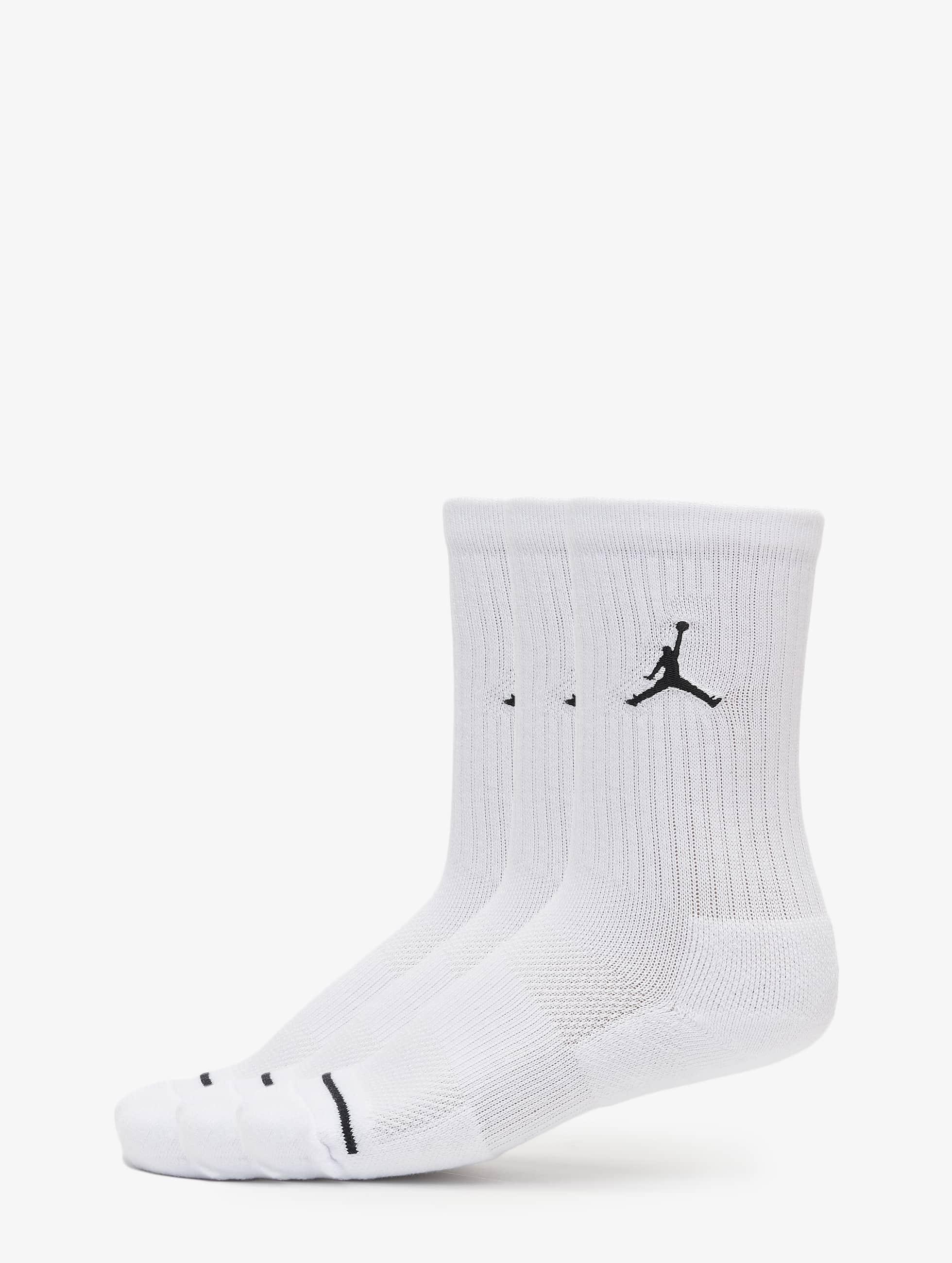 Jordan Männer Socken 3 Pack Cotton Crew in weiß