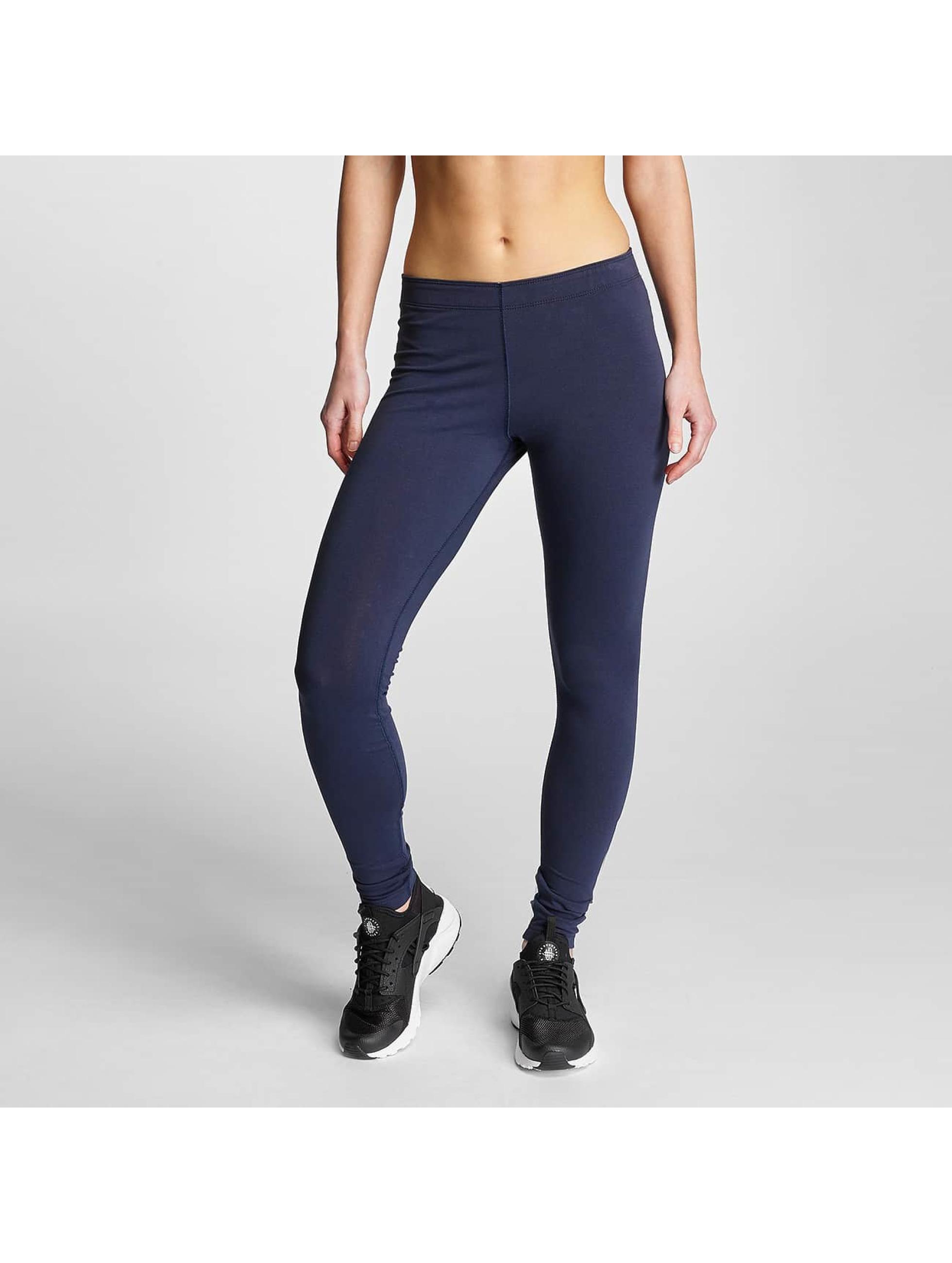 Nike Frauen Legging Leg-A-See Logo in blau