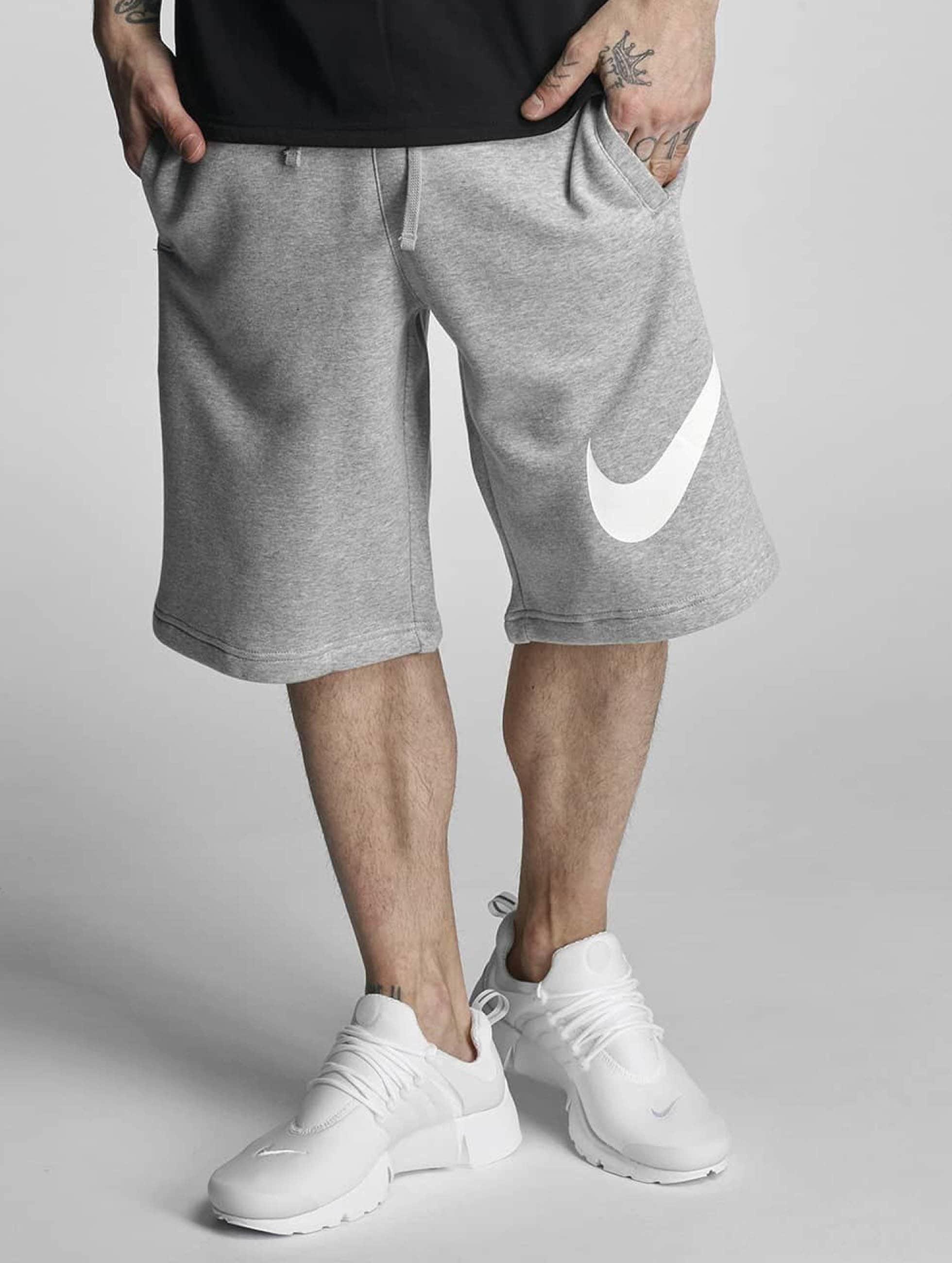 Nike Männer Shorts FLC EXP Club in grau