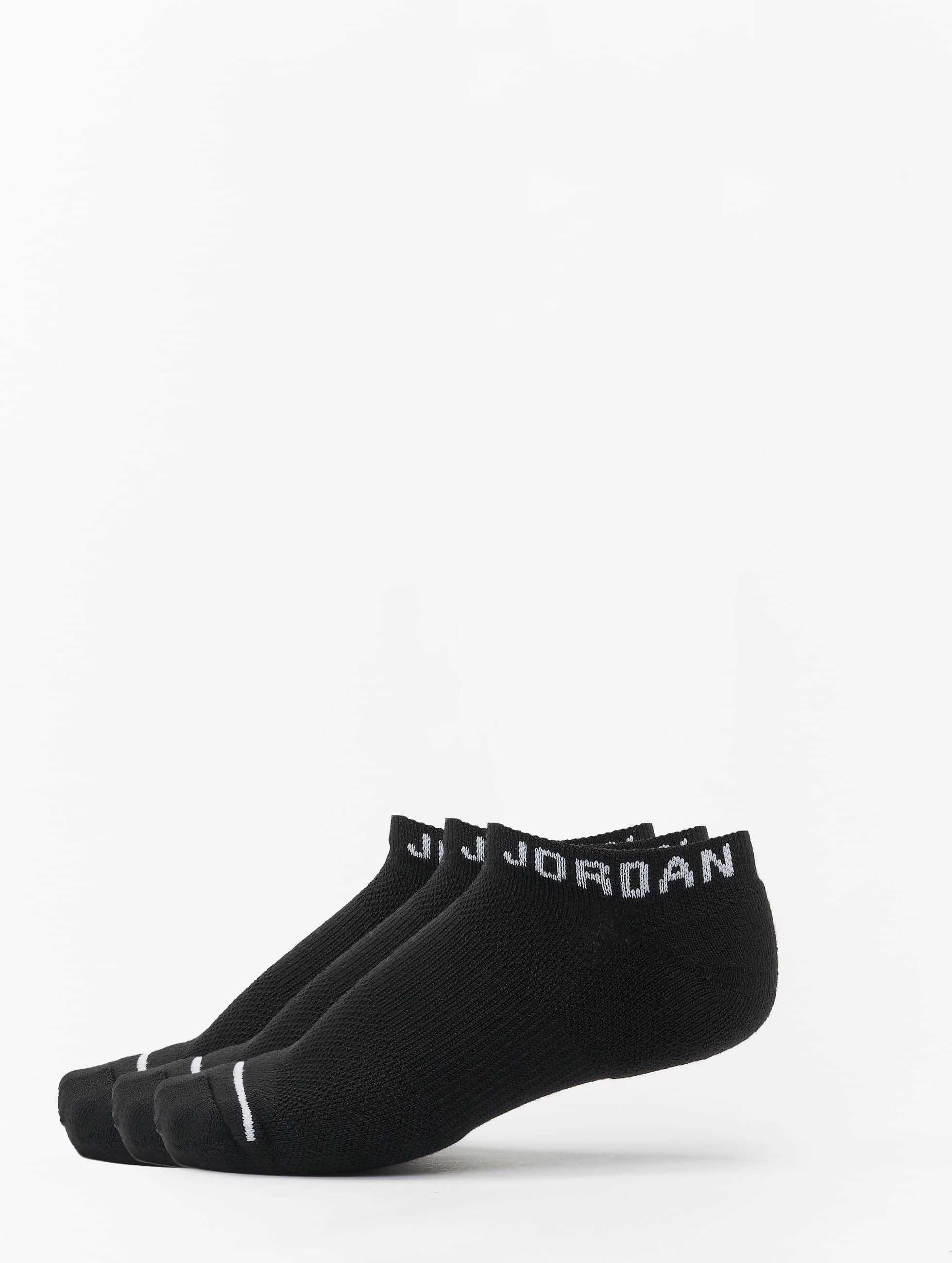 Jordan Männer,Frauen Socken Jumpman No Show in schwarz