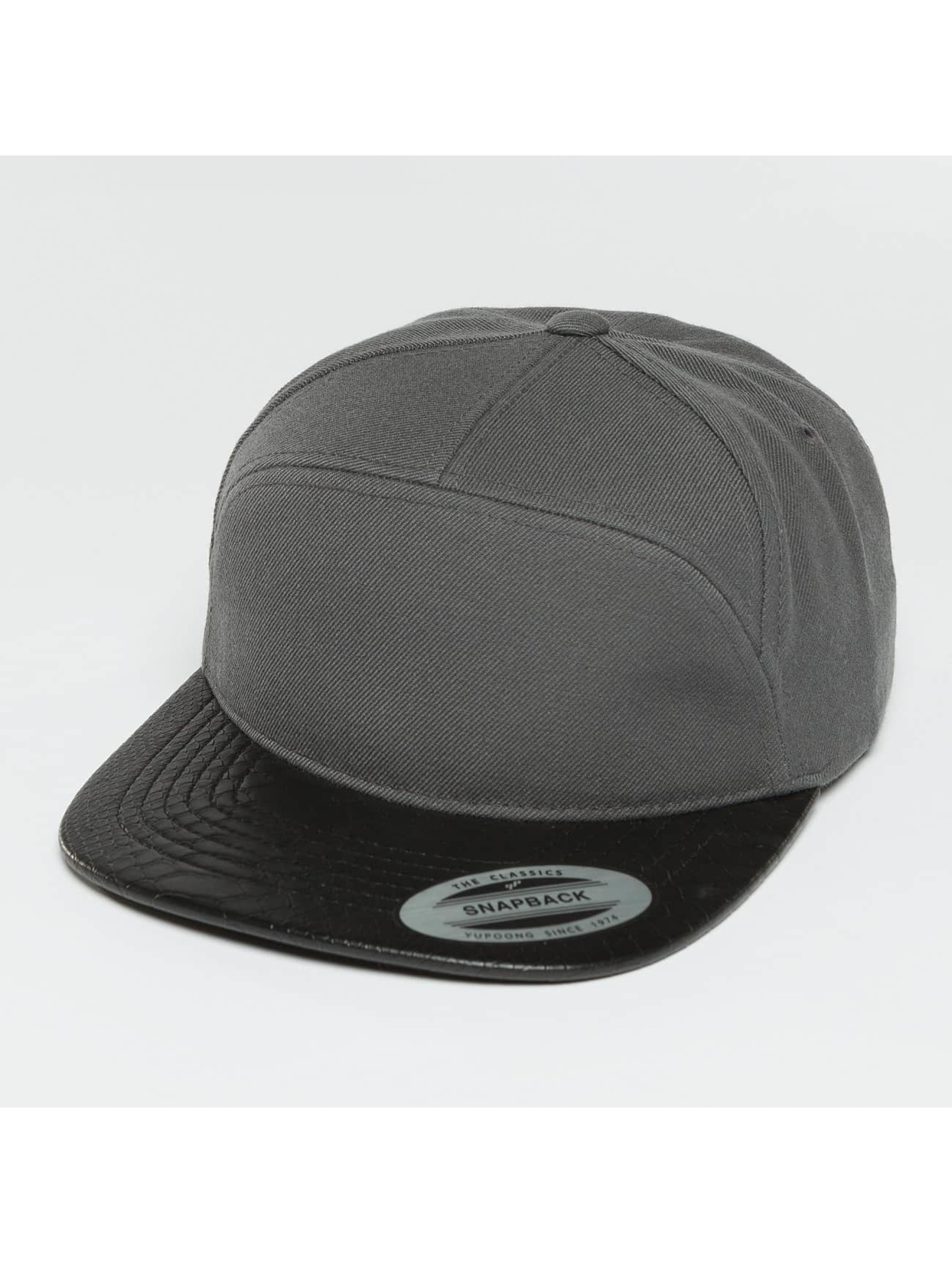 Flexfit Männer,Frauen Snapback Cap Arch in grau