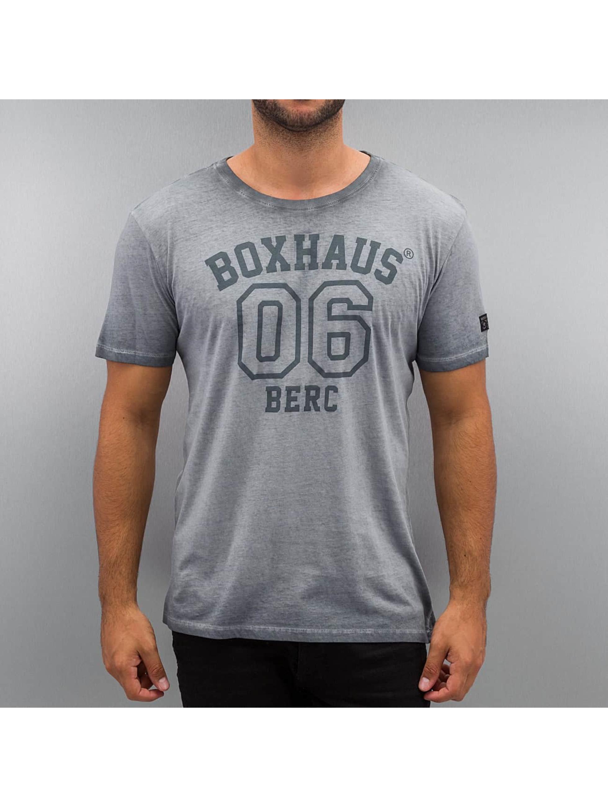 BOXHAUS Brand Männer T-Shirt Jero in grau