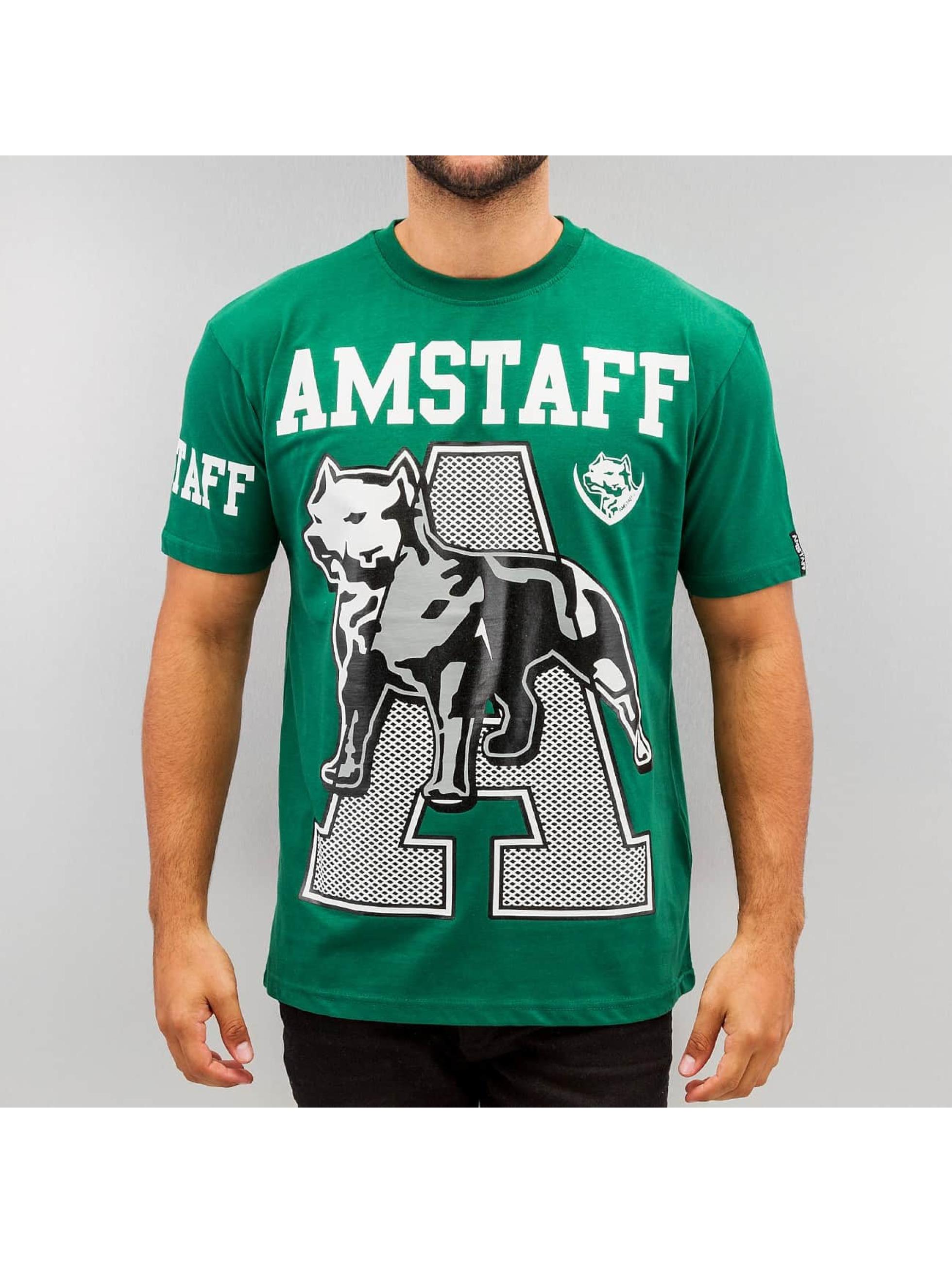 Amstaff Männer T-Shirt Alador in grün