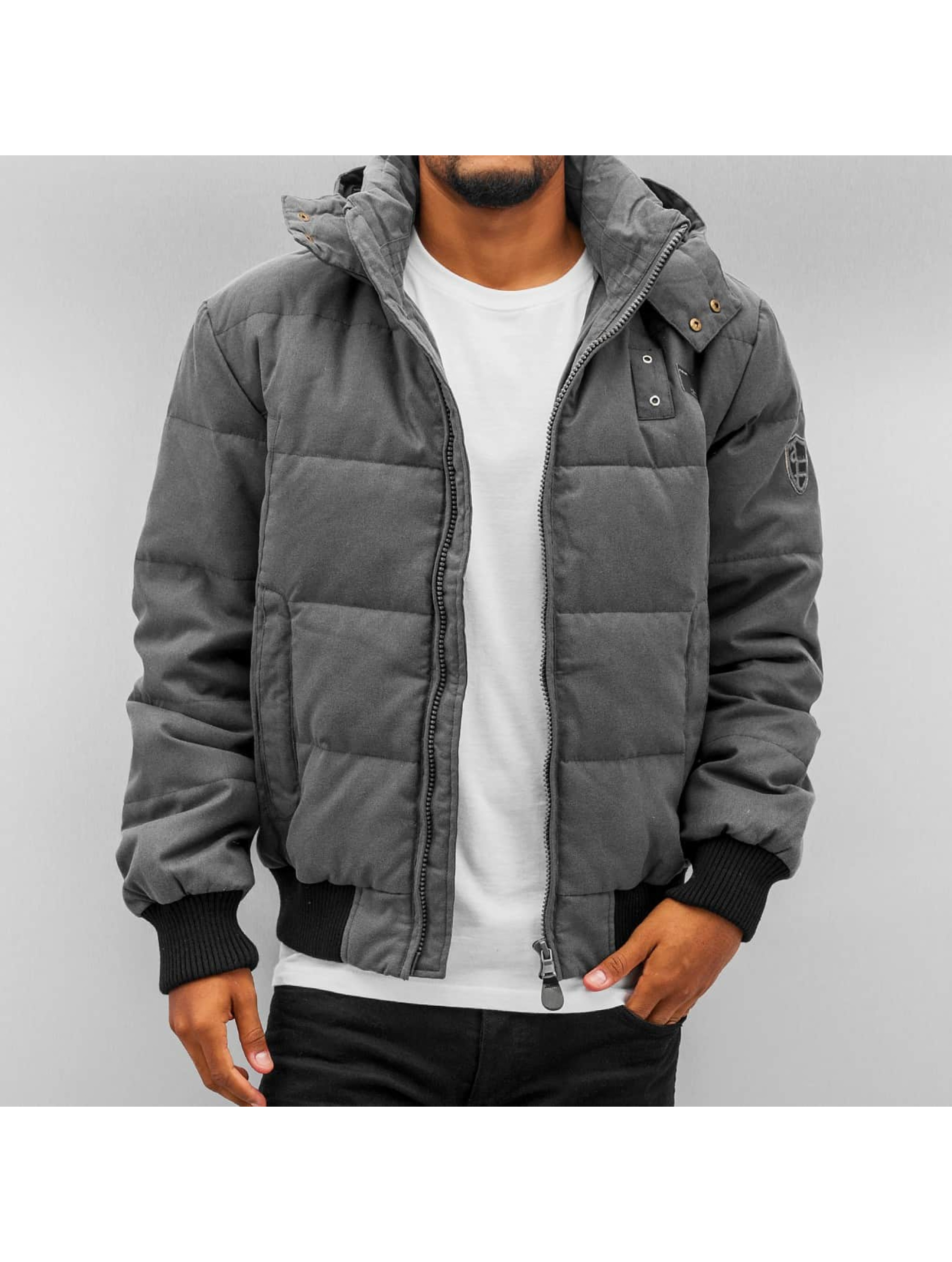Alife Famous Dean Jacket Dark Grey Melange