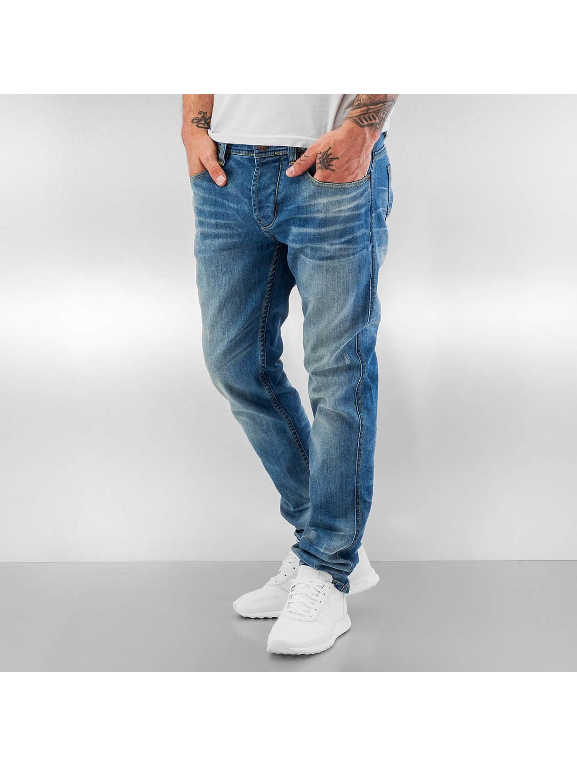 ID Denim Männer Straight Fit Jeans Zack in blau
