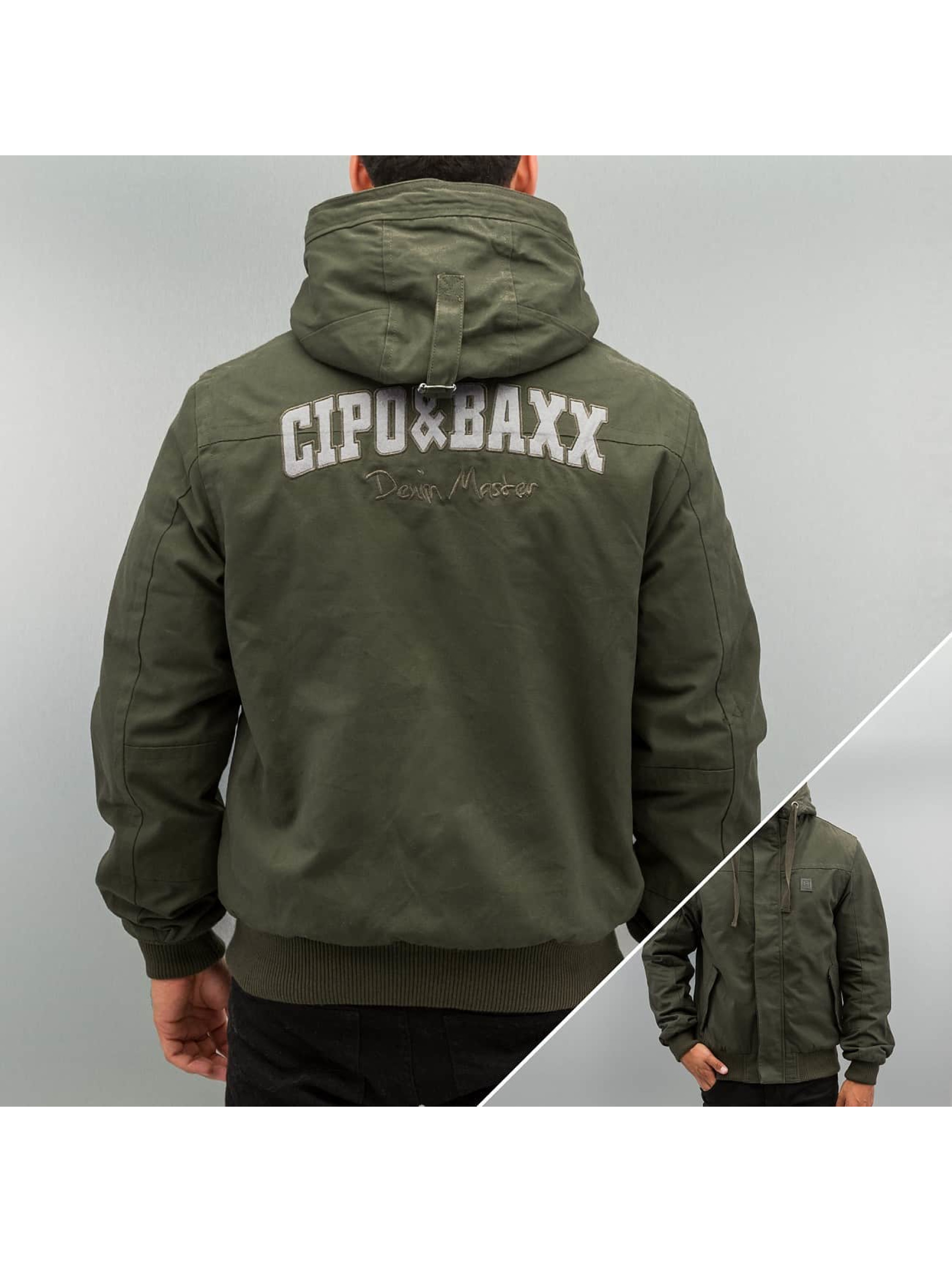 Cipo Baxx Polar Winter Jacket Khaki