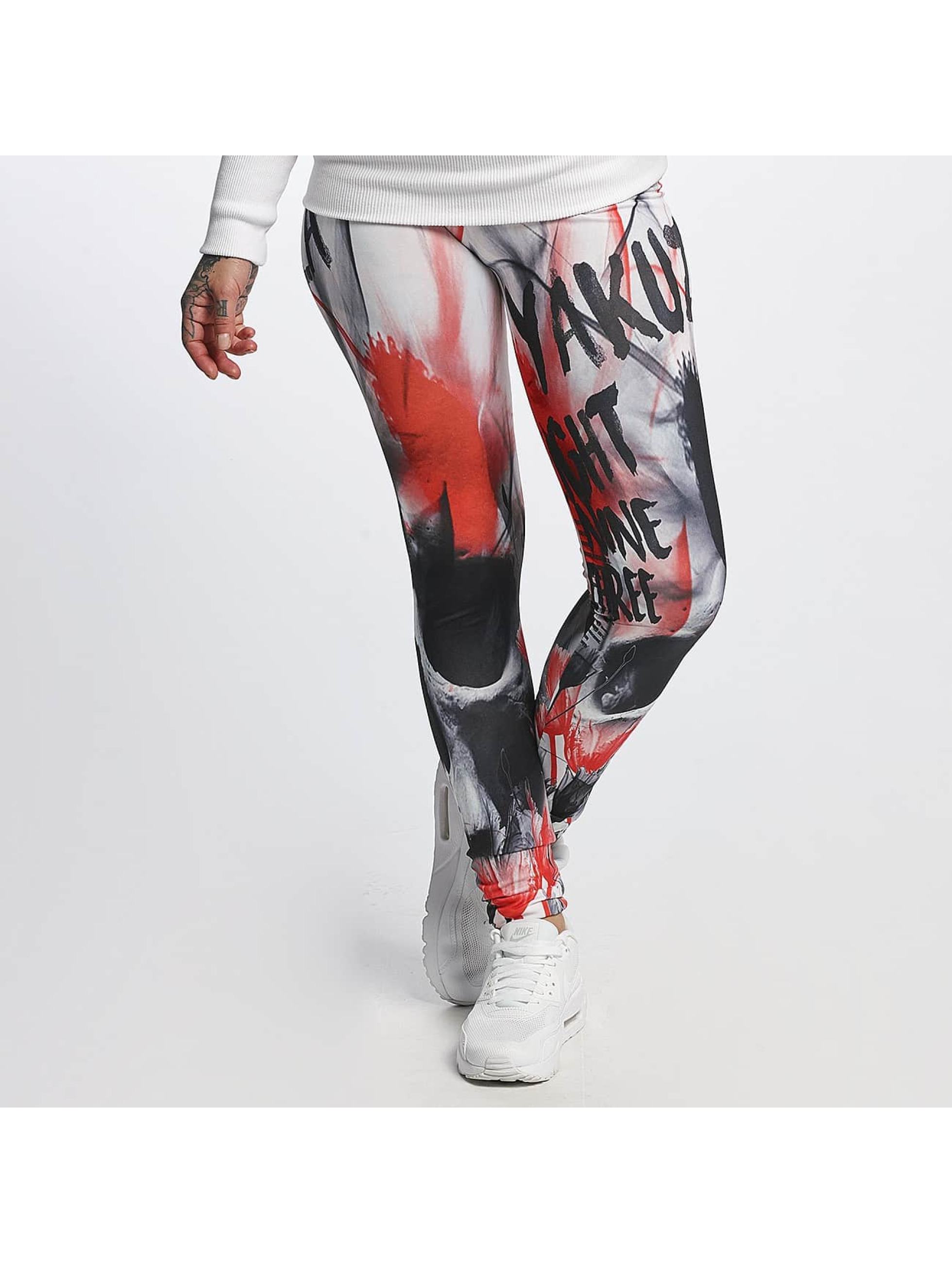 Yakuza Frauen Legging Skull in bunt