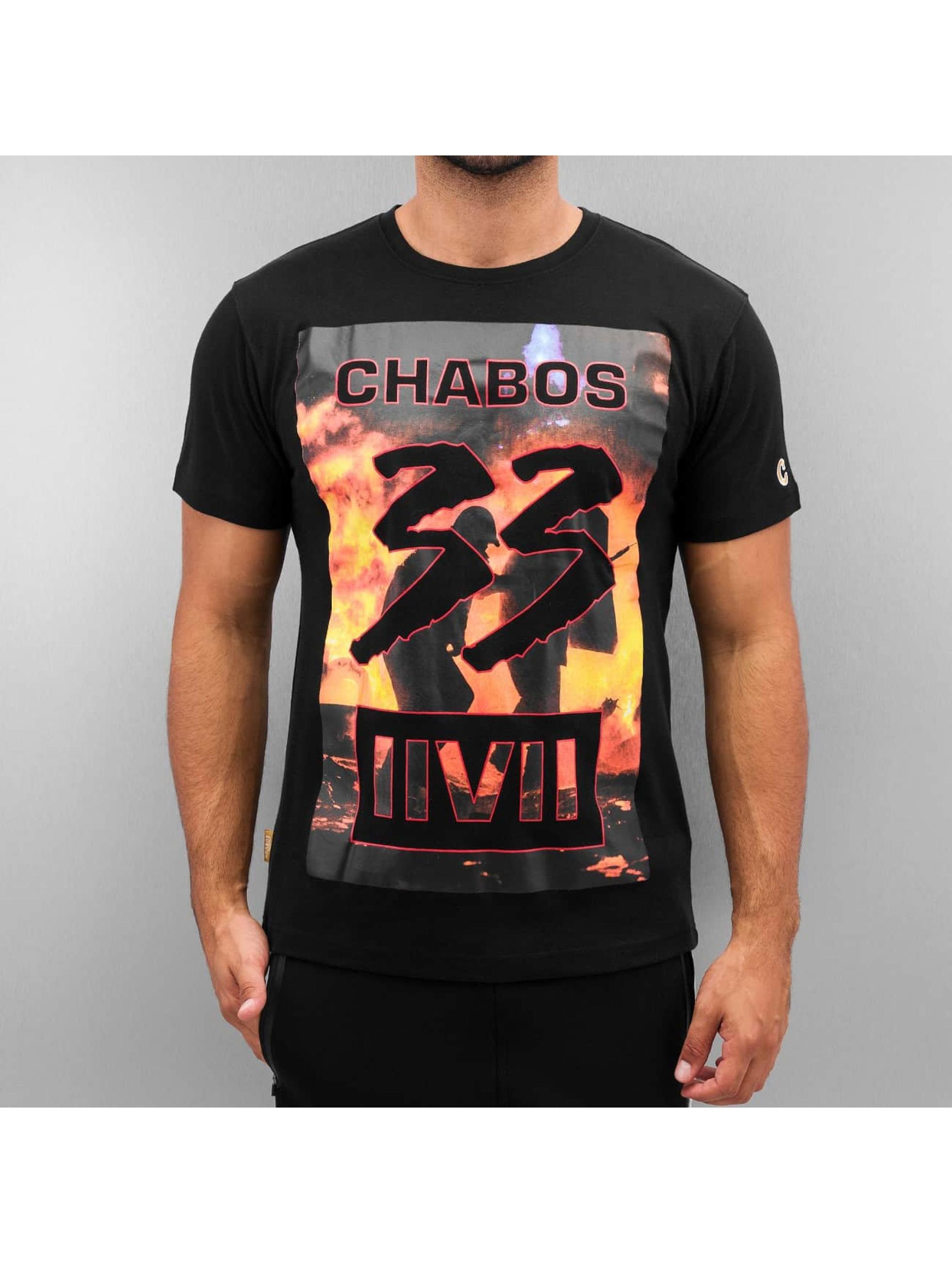 CHABOS IIVII Männer T-Shirt 33 in schwarz