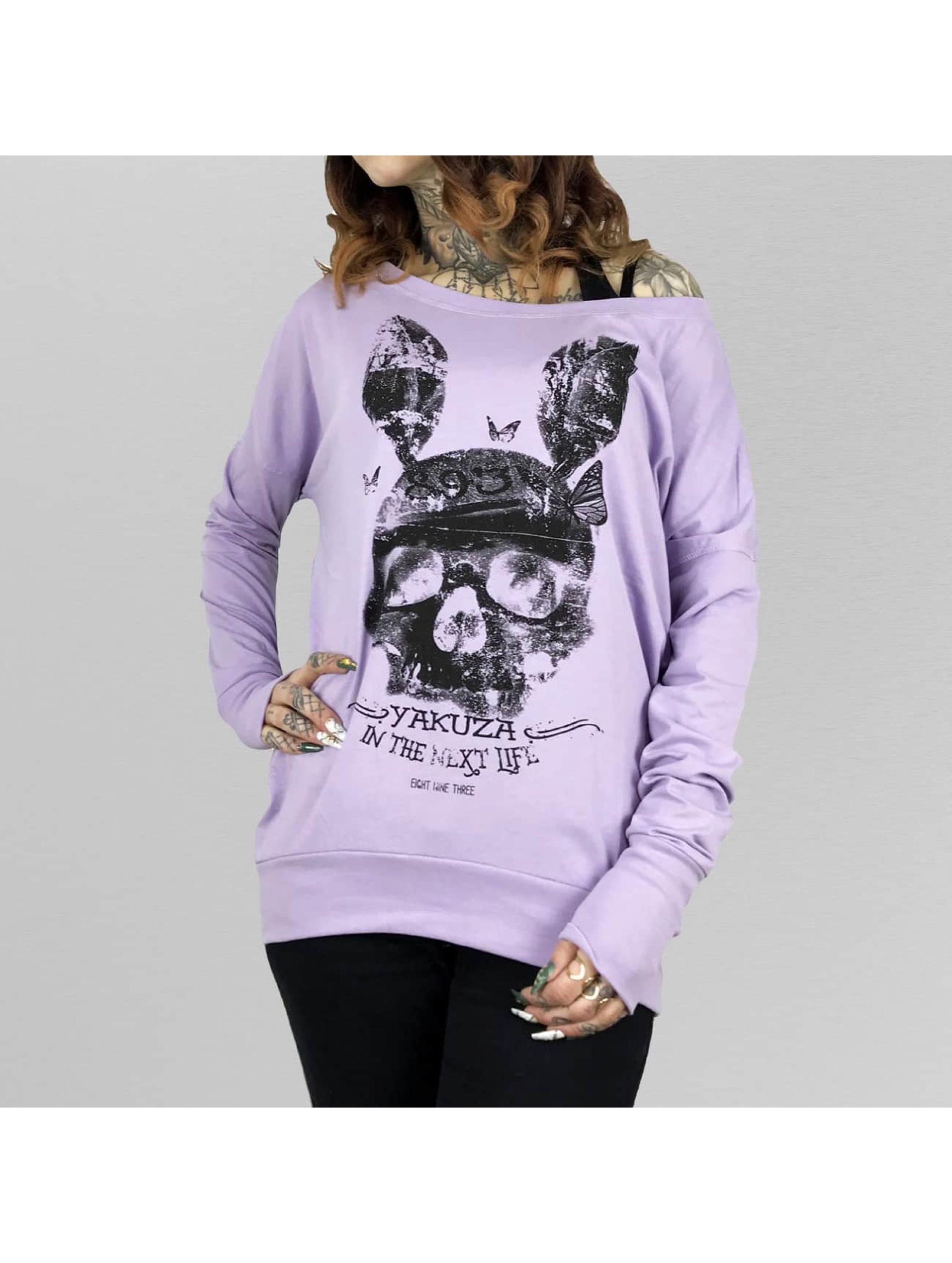 Yakuza Dead Bunny Wide Crew Longsleeve Lavender Frost Sale Angebote