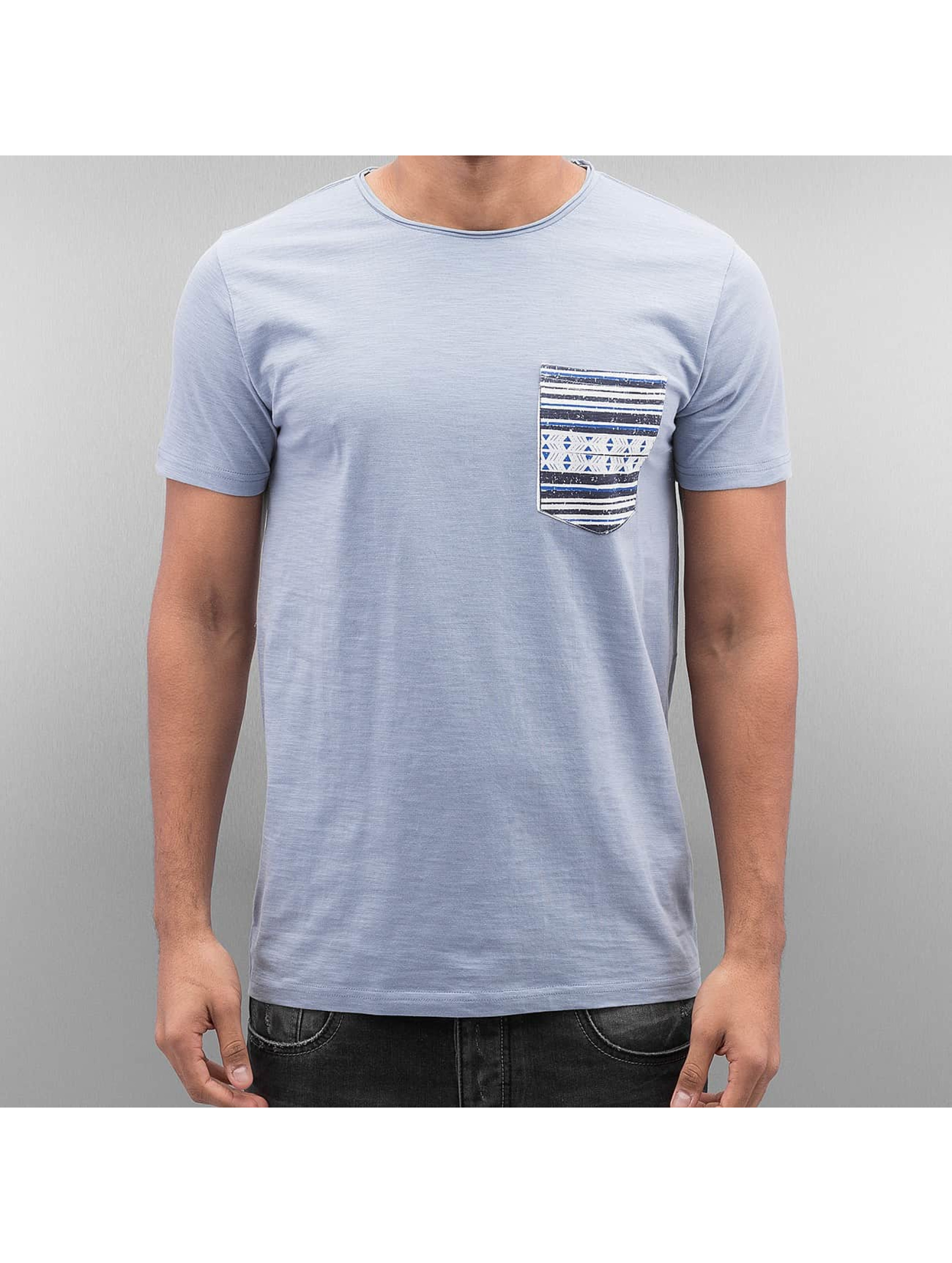 SHINE Original Männer T-Shirt Pocket in blau