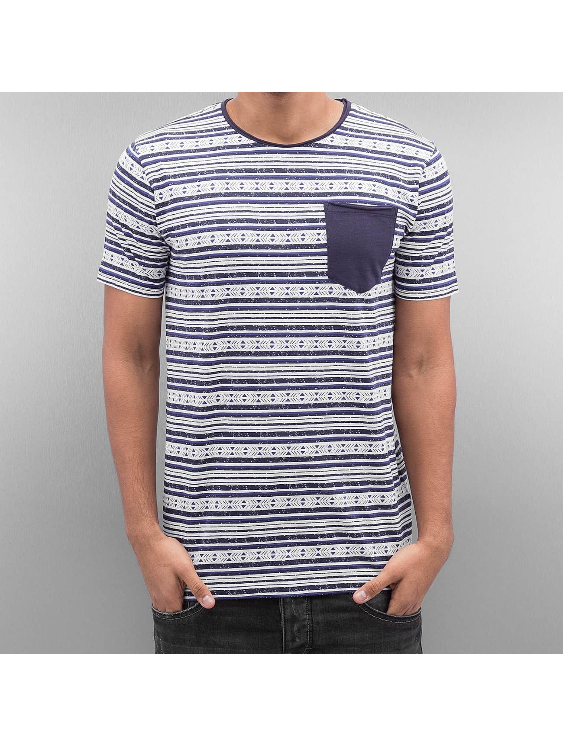 SHINE Original Stripes T-Shirt Dark Blue Sale Angebote