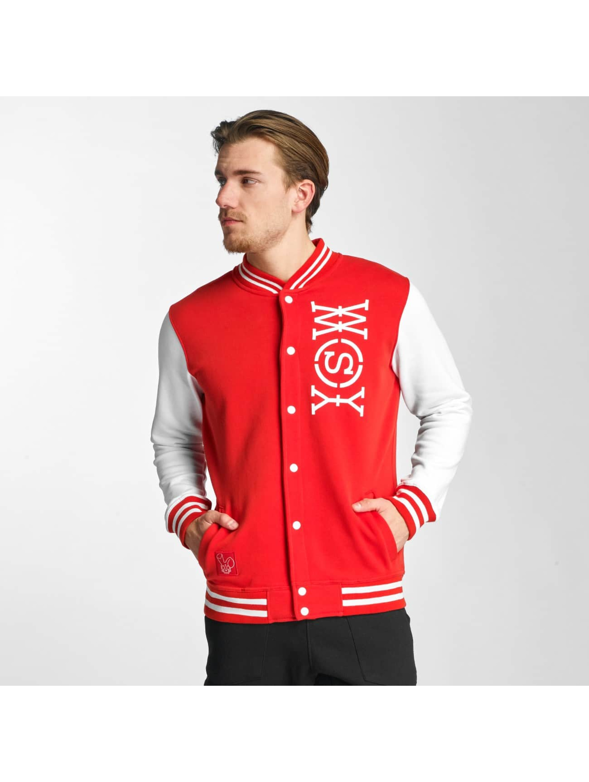 Who Shot Ya? / College Jacket Alpha in red XL